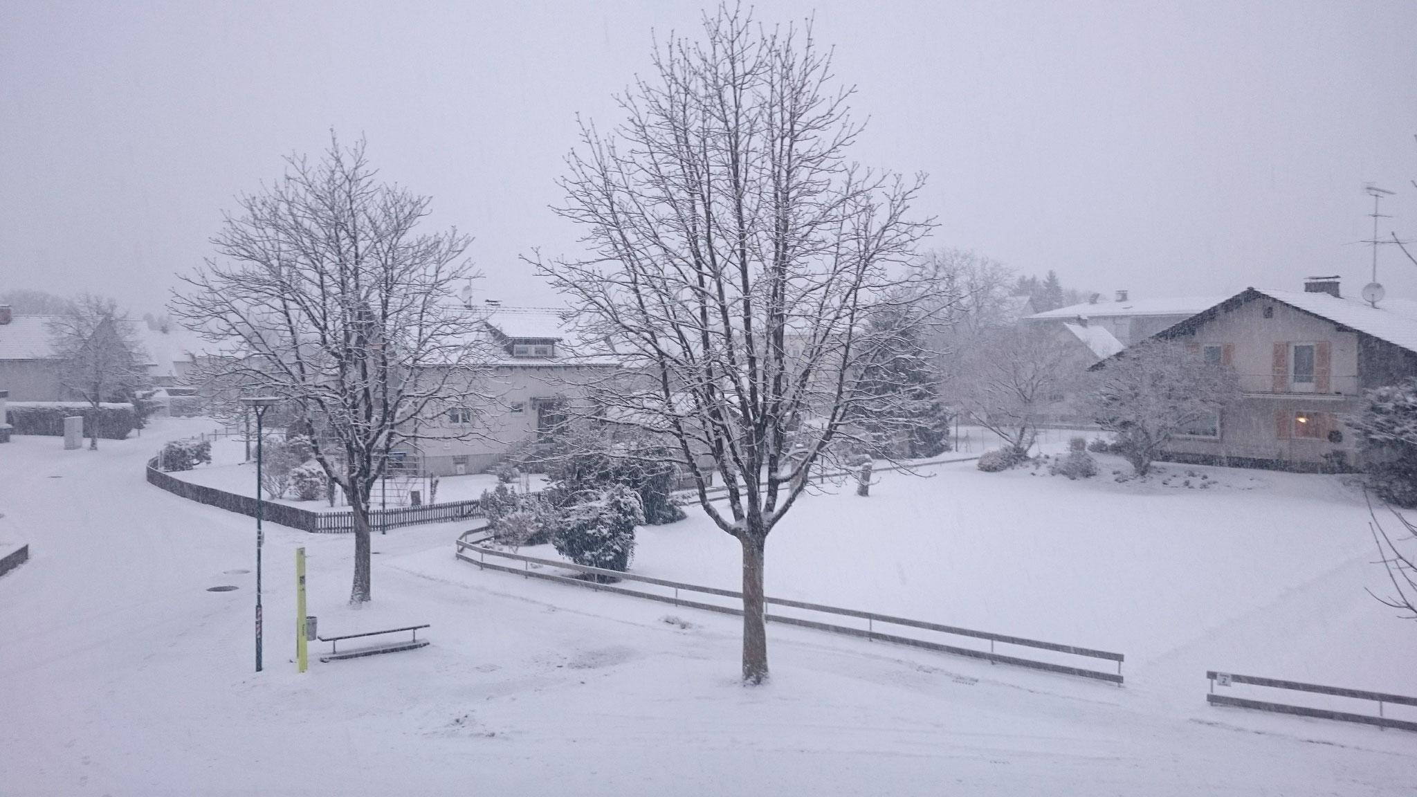 04.01 Der Schnee ist endlich da.
