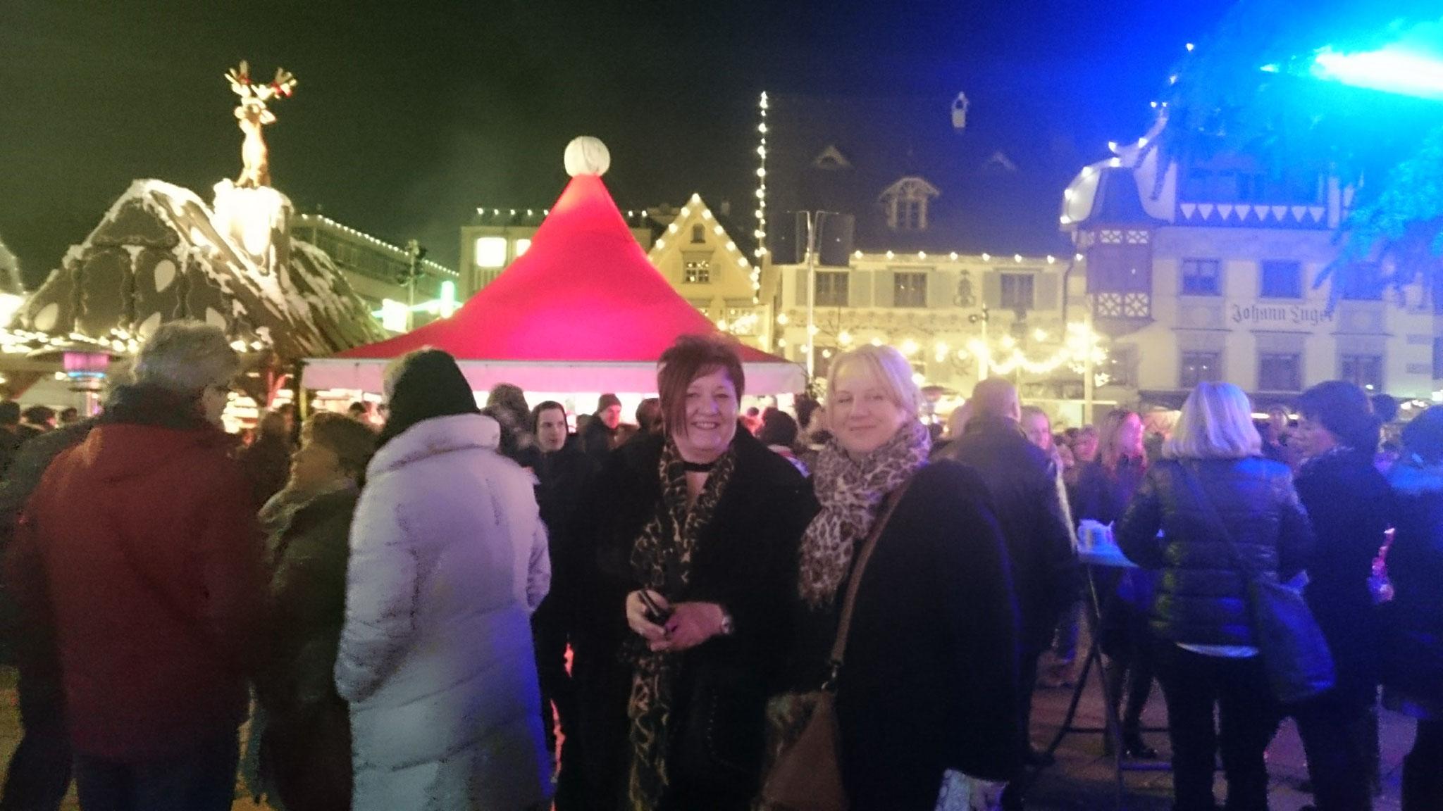 Den Dornbiner Weihnachtsmarkt erkunden.