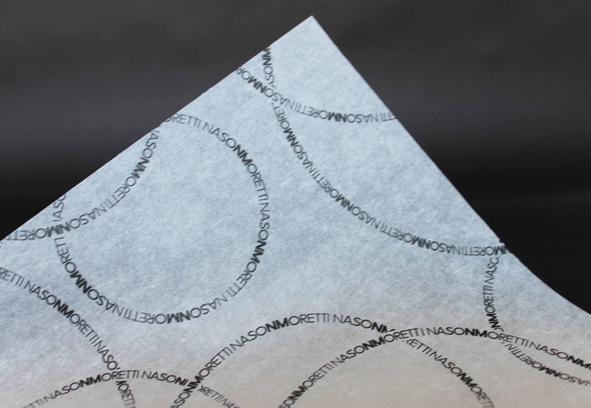 Druck: Schwarz, Papier: Weiß
