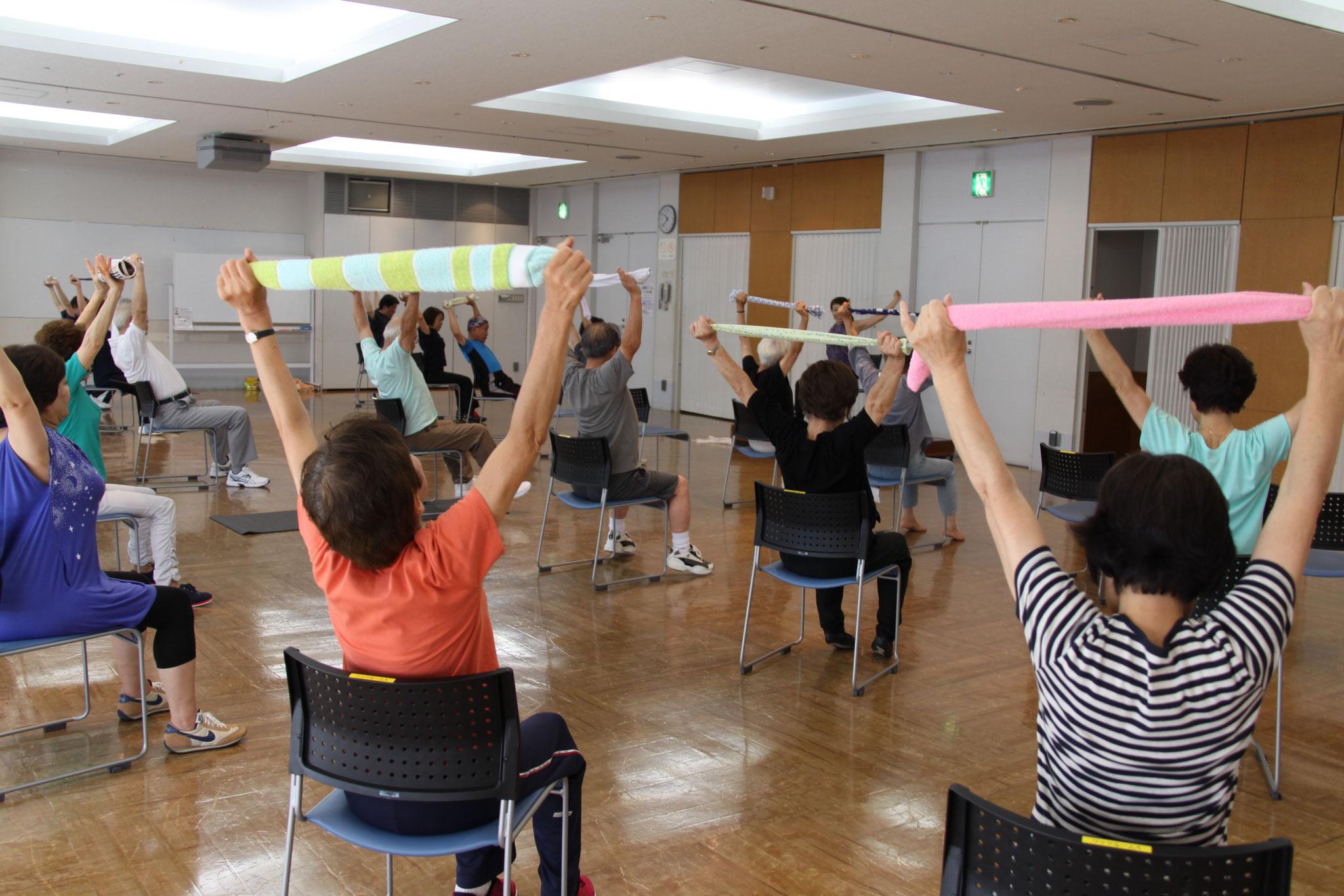 さいたま市内の公民館で体操教室も開催しています