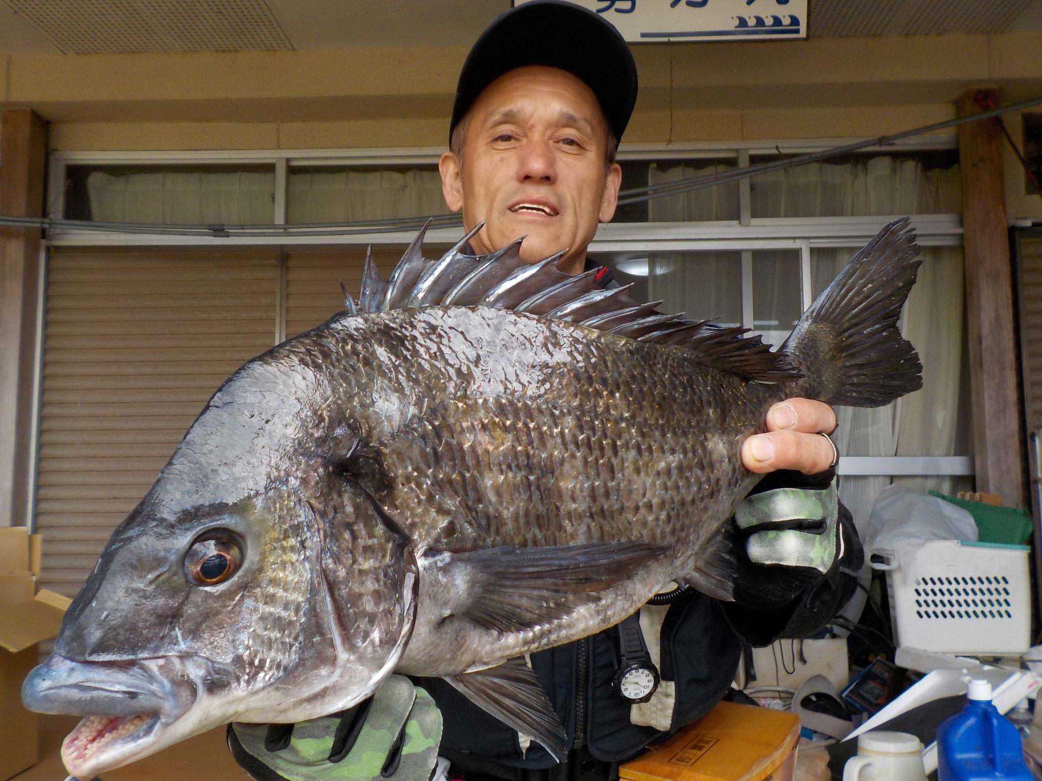 3月18日 磯釣りで多田さん ガバチン50.1㎝