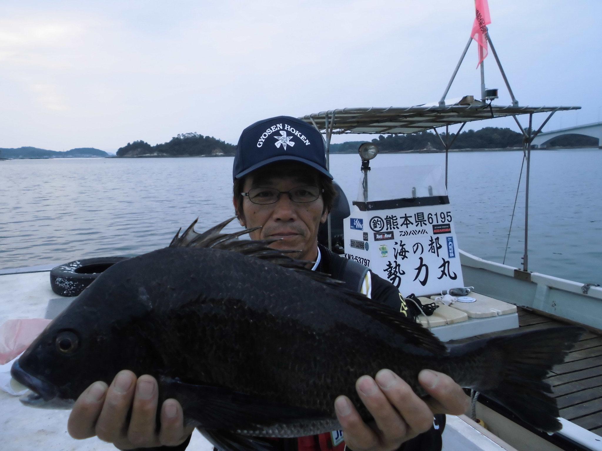5月14日 川端さん ガバチヌ52.2㎝