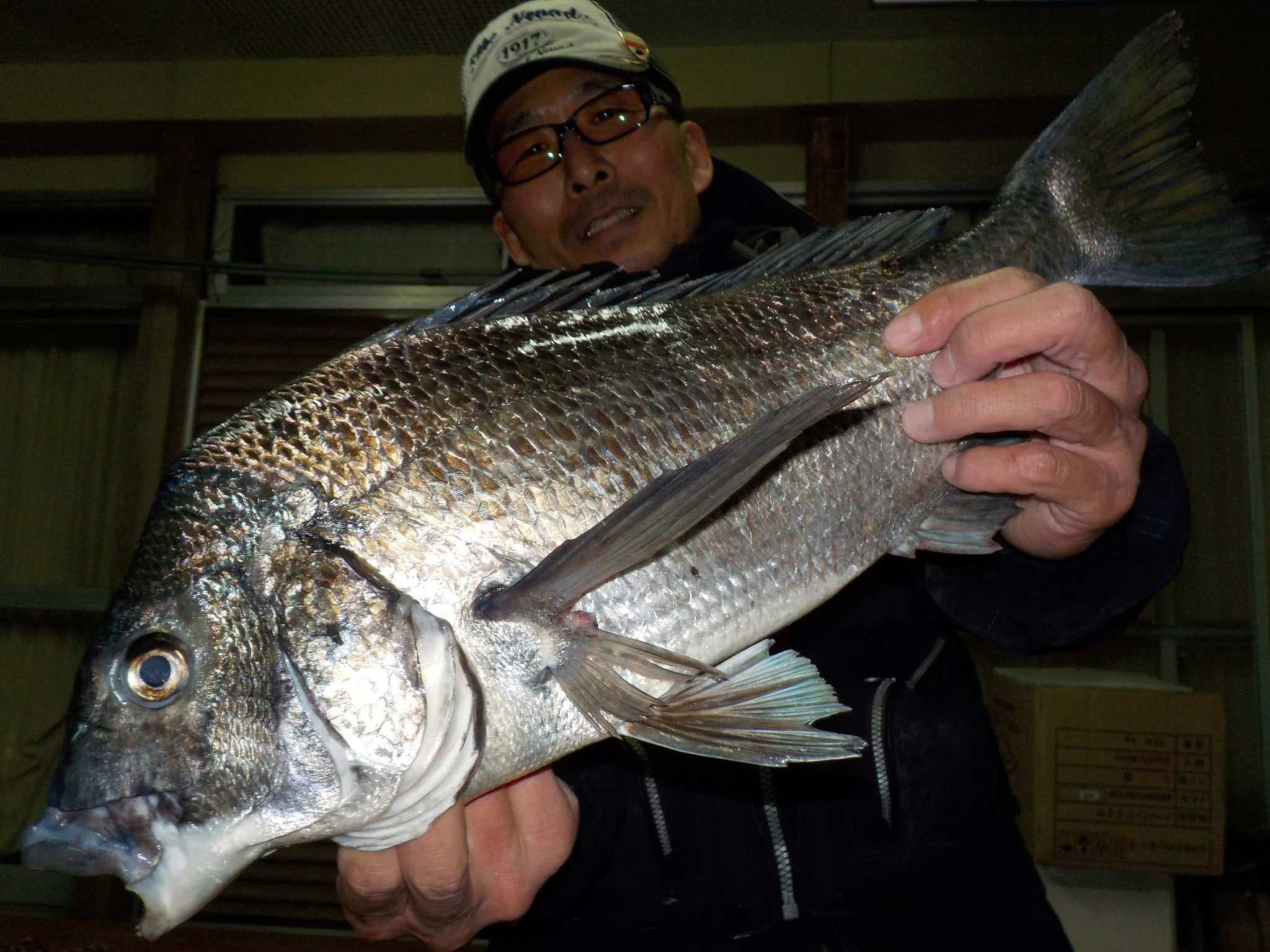 2月17日 ダゴチン釣りで宮崎さん ガバチン51.2㎝