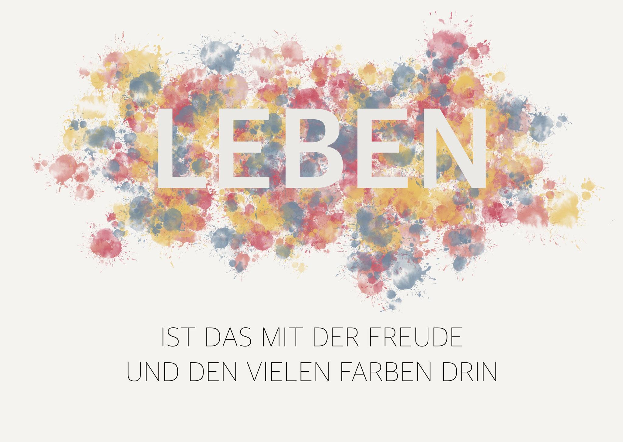 "Karte ""Leben"""