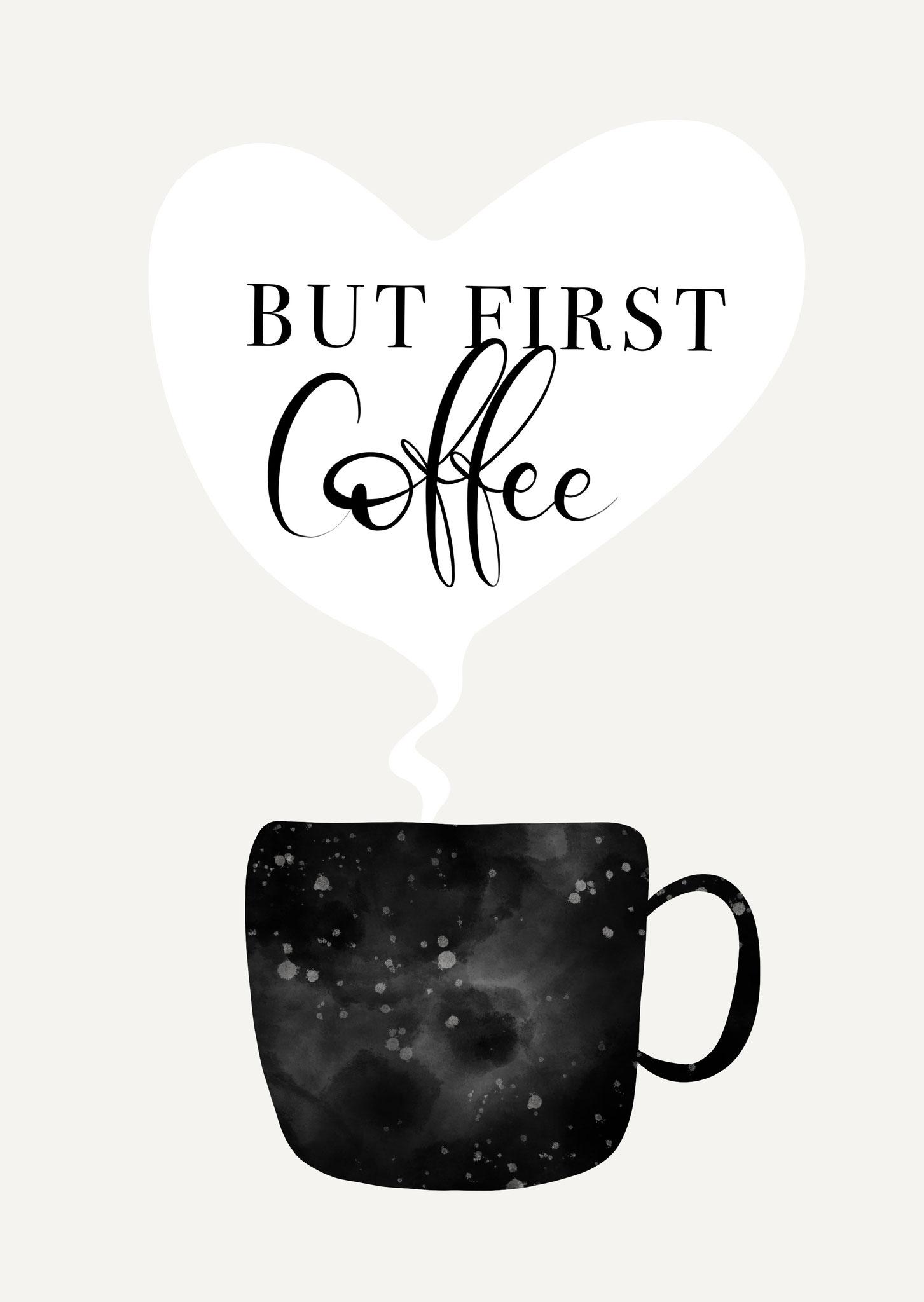"""Karte """"Coffee"""""""