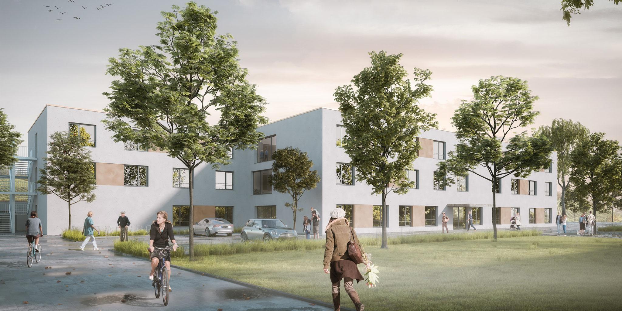 Pflegeheim Sonnenstück Schliengen I Herrmann Bosch Architekten