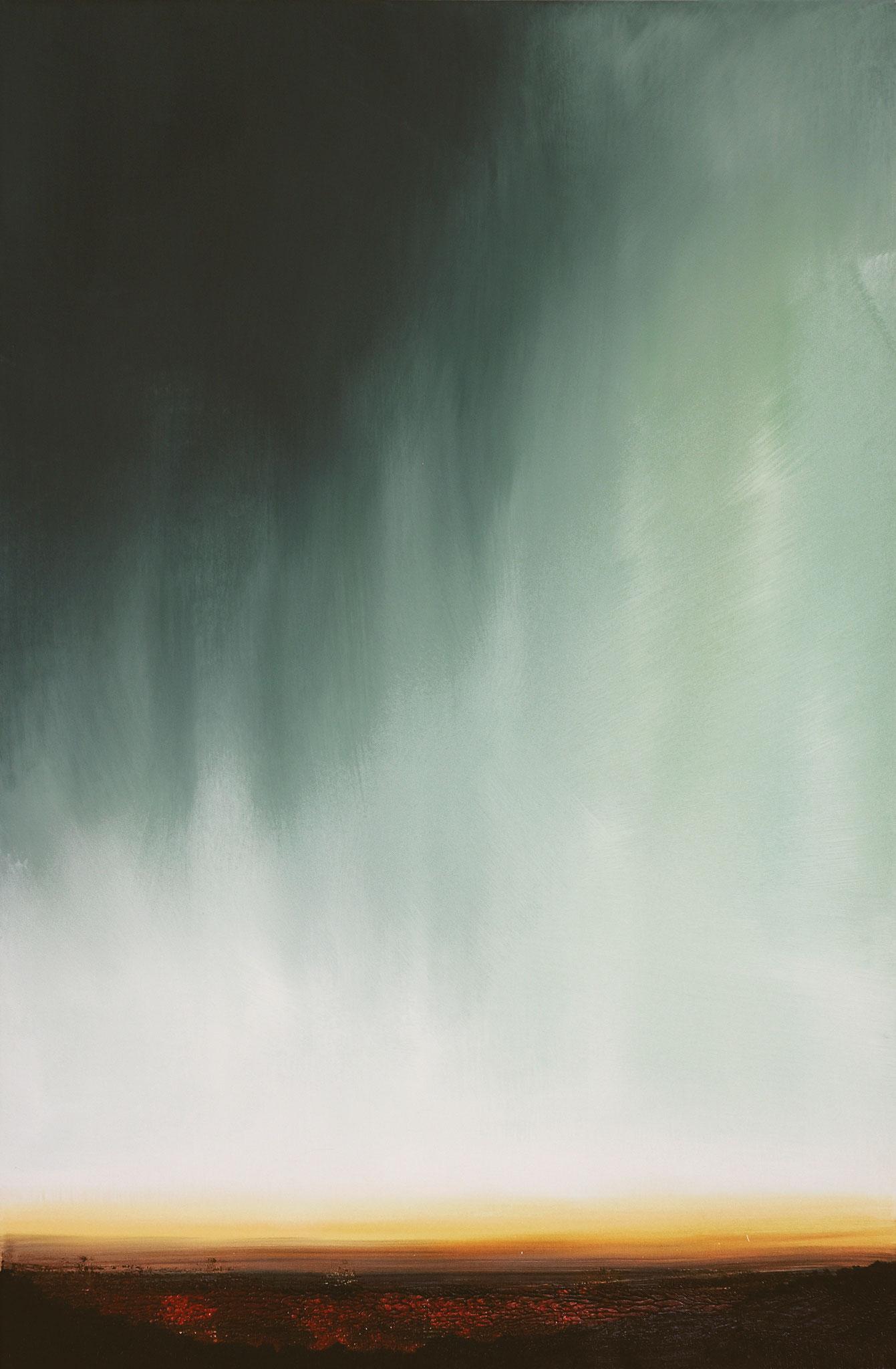 ›Valley‹, Acryl auf Leinwand, 80 x 120 cm, 2016