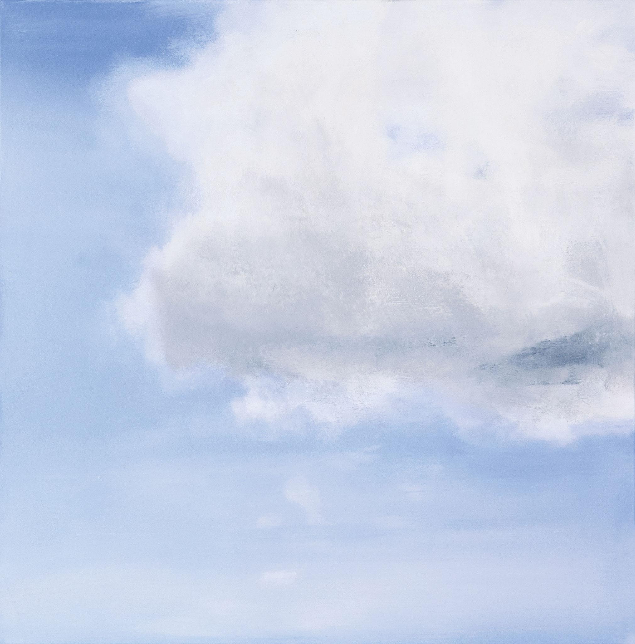 ›Sky / Peace‹, Acryl auf Leinwand, 100 x 100 cm, 2016