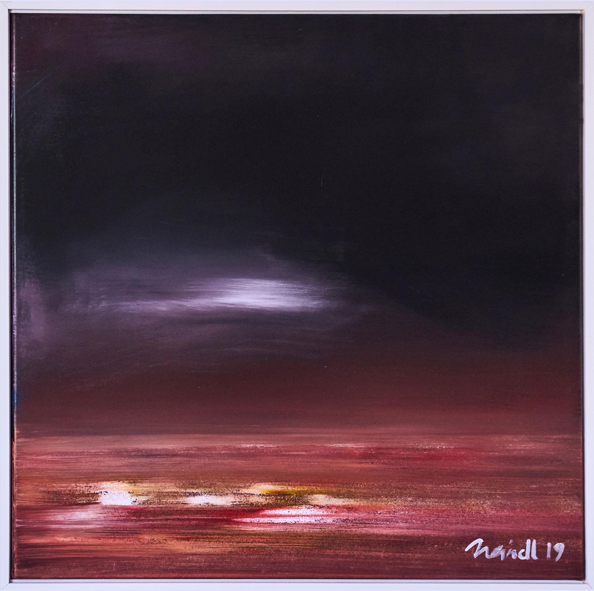 ›Mondschein‹, Acryl auf Leinwand, 73 x 73 cm, 2019