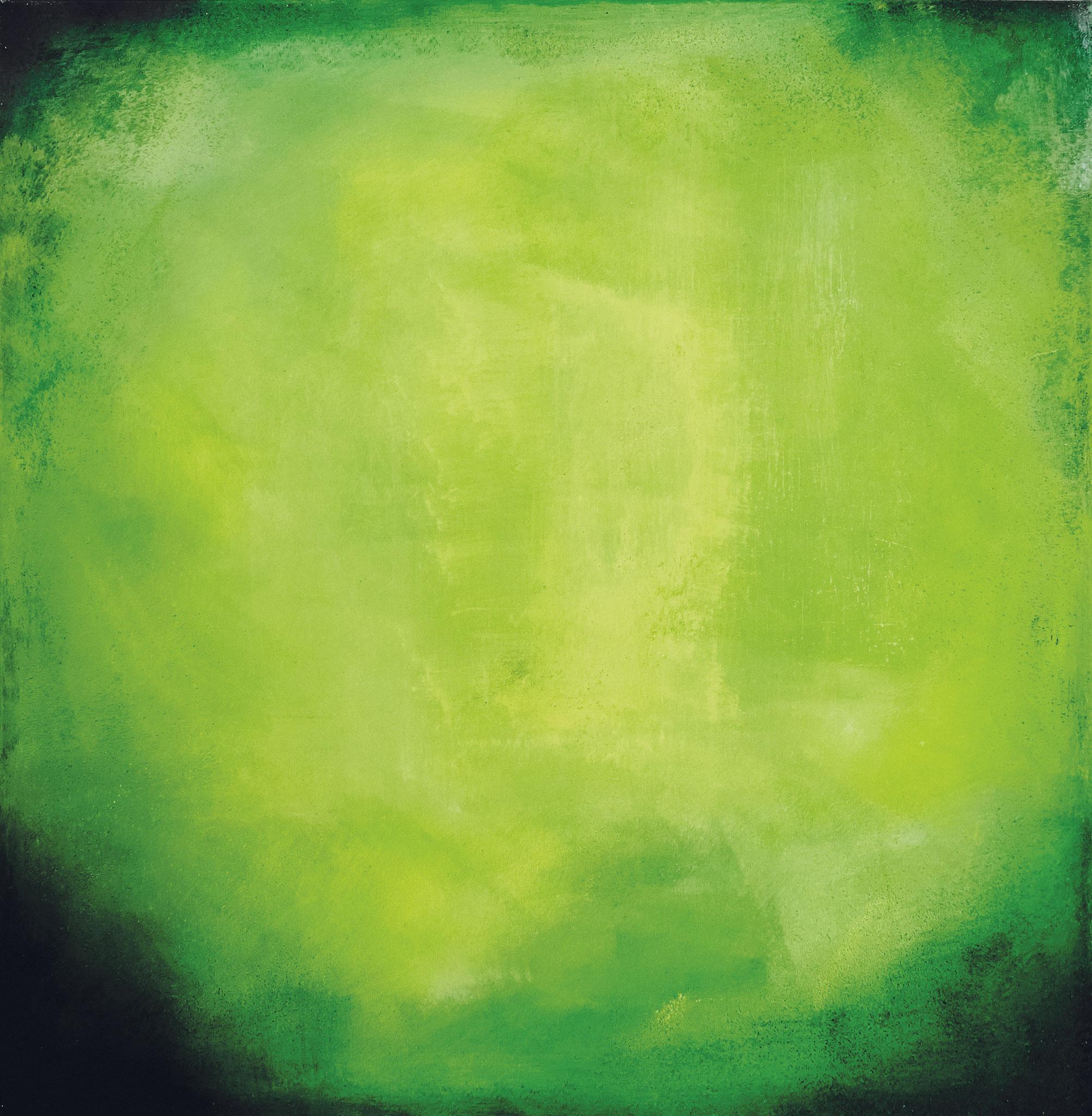 ›Hope‹, Acryl auf Leinwand, 100 x 100 cm, 2016