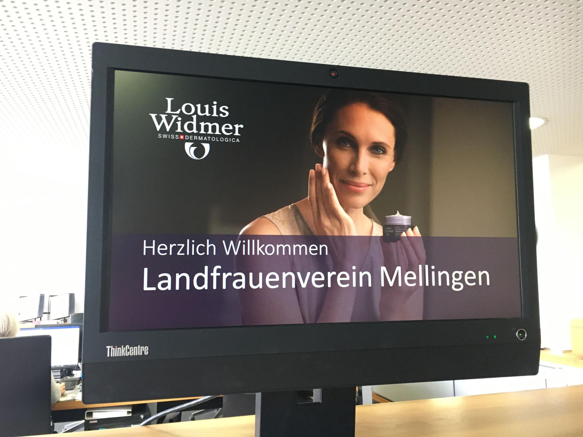 Betriebsführung Louis Widmer Schlieren