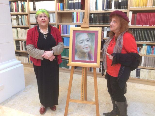 Annemarie von Csath portraitiert die Künstlerin Barbara Dorsch