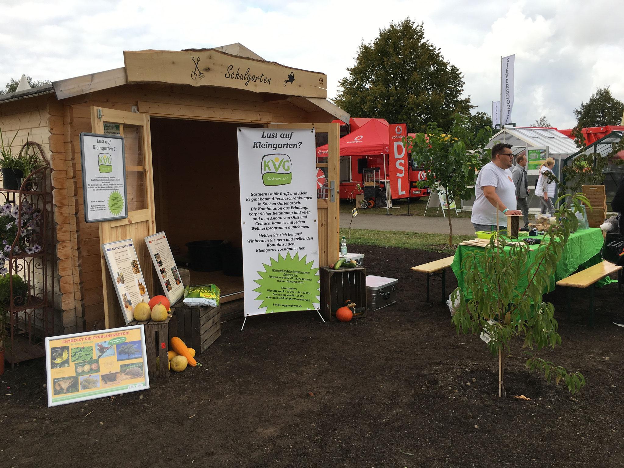 Präsentation des Kreisverbandes der Gartenfreunde