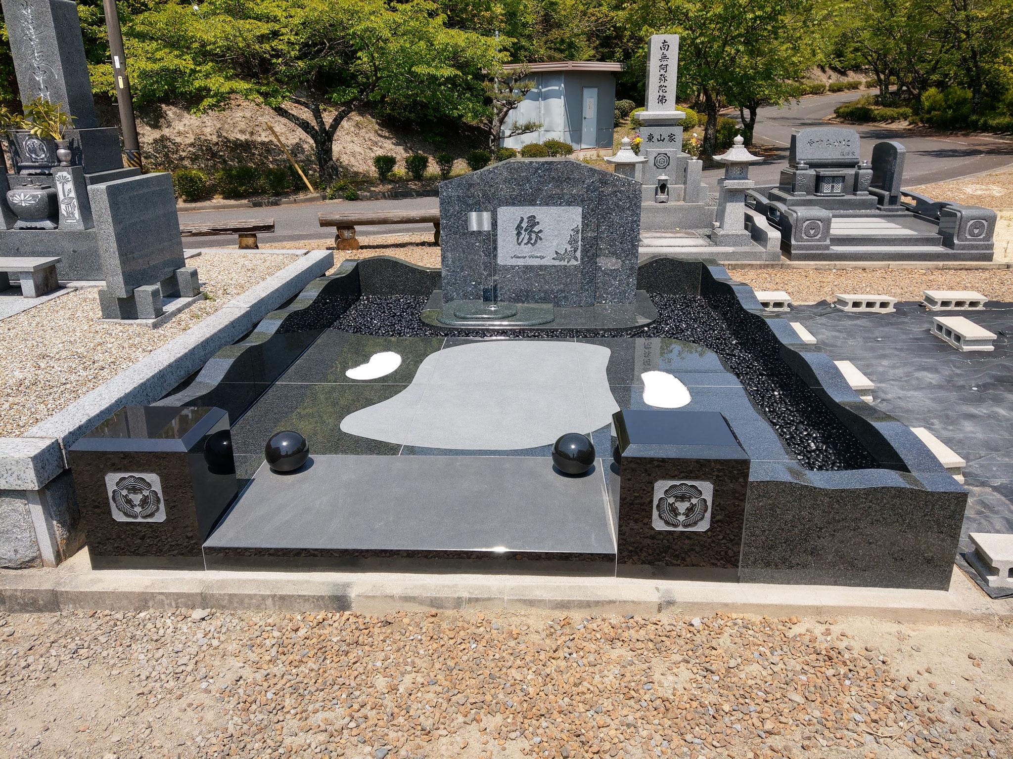 大島組 オリジナルデザイン墓石 (豊田市)