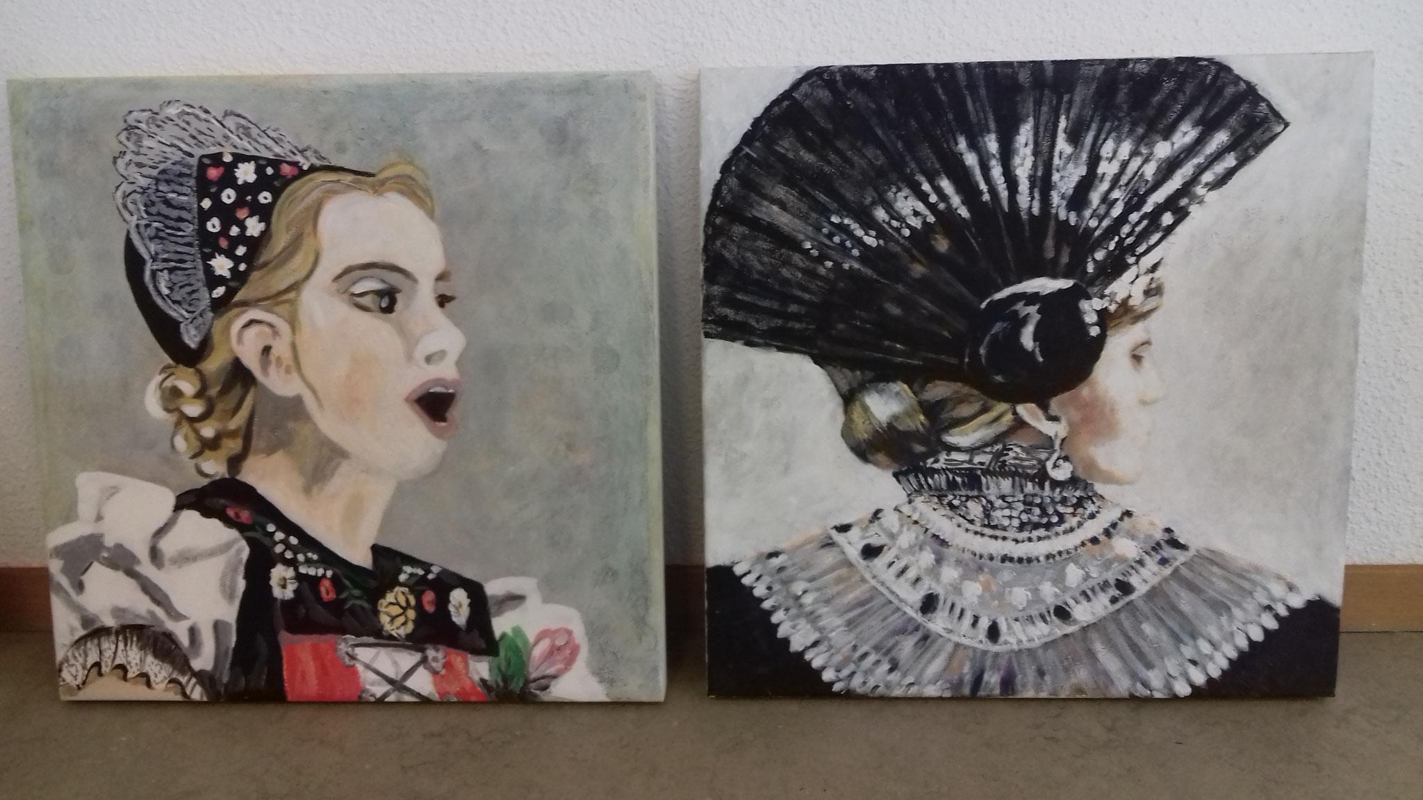 Jodlerinnen und Trachtenfrauen, 2018/2019
