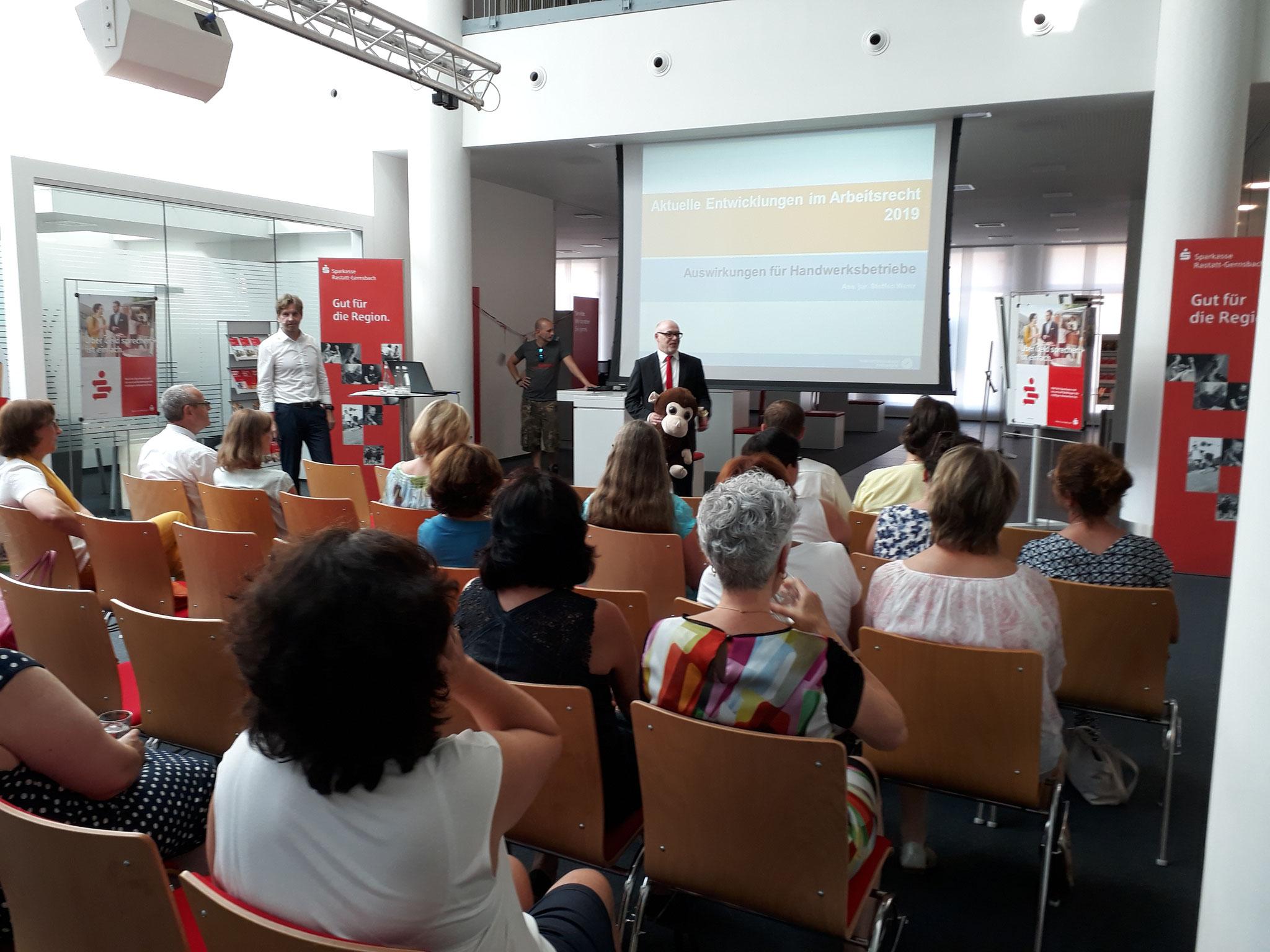 06-2019 Arbeitsrecht - Vortrag bei der Sparkasse Rastatt-Gernsbach
