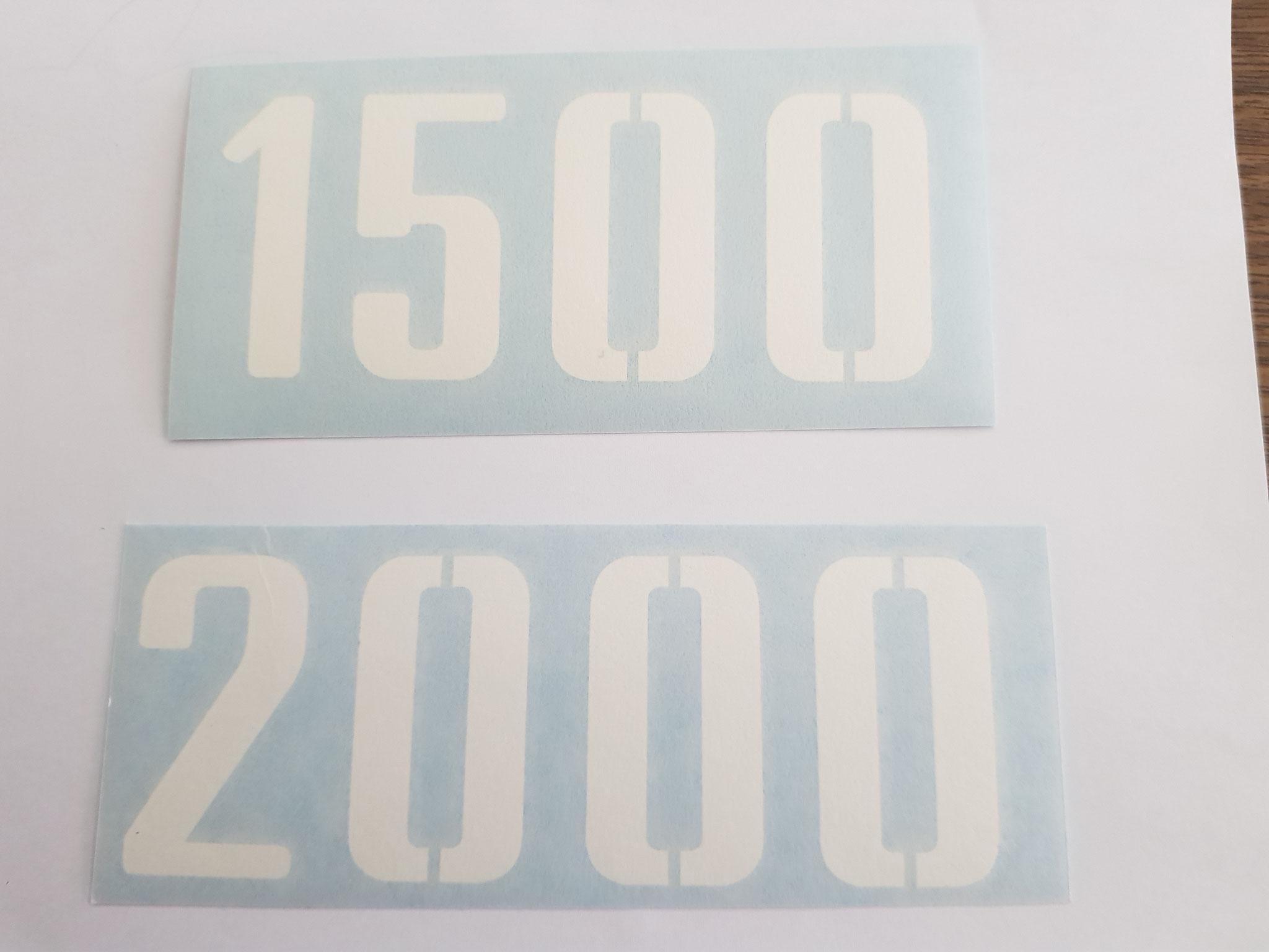 Schilter 1500/2000 Kleber