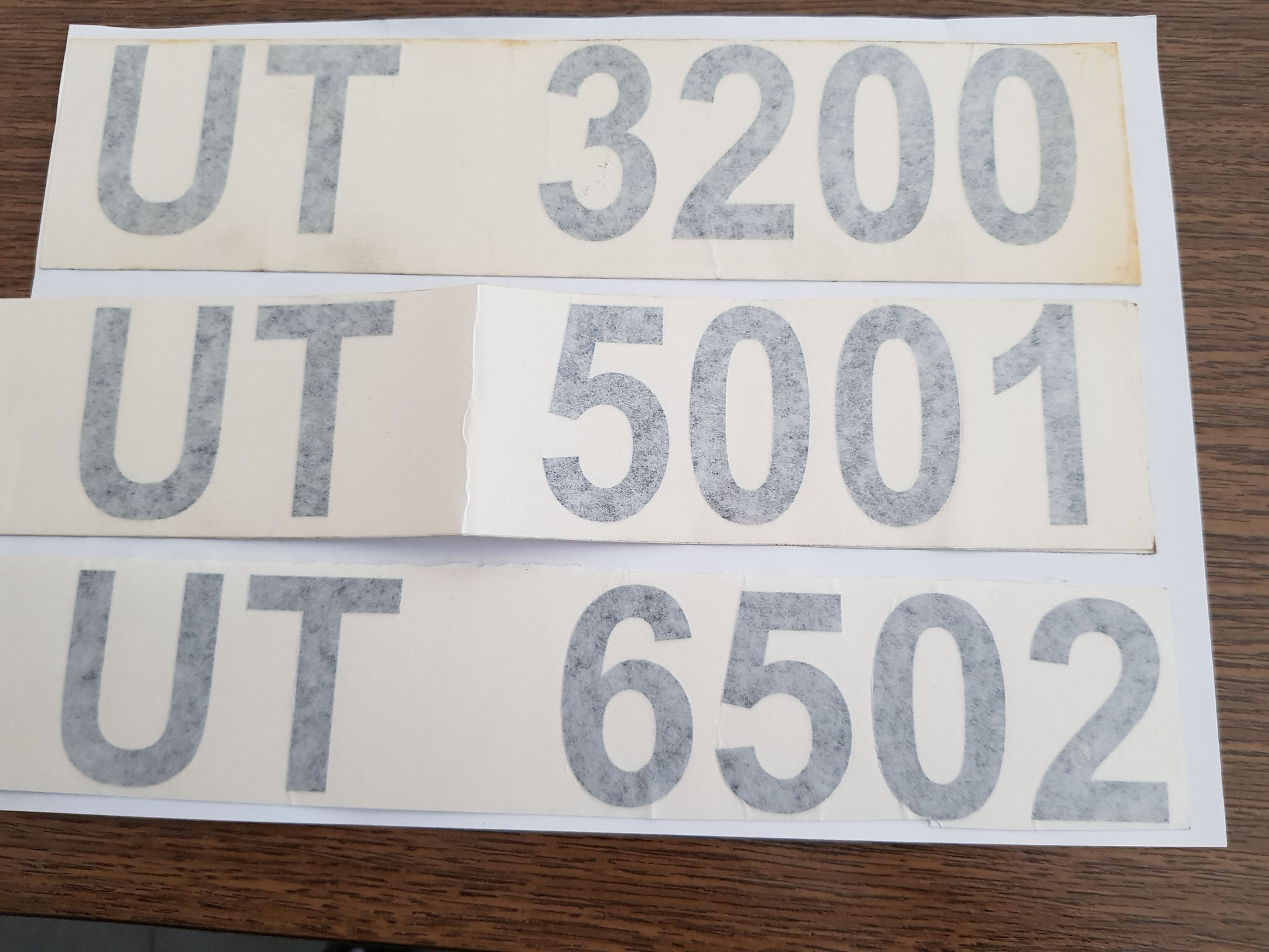 Schilter UT 3200/5001/6502 Kleber