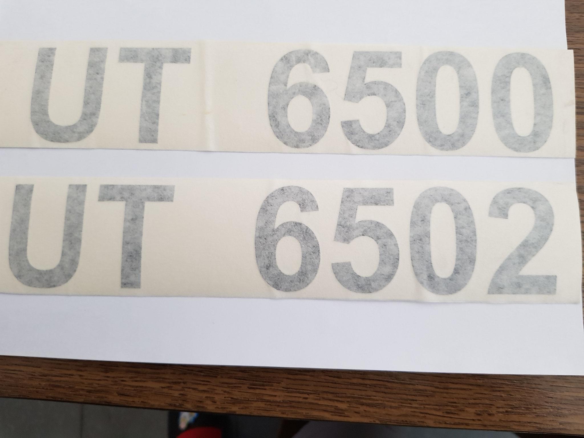 Schilter UT 6500/6502 Kleber
