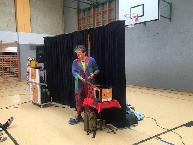 Zauberclown Maxi hat uns allen sehr gut gefallen!