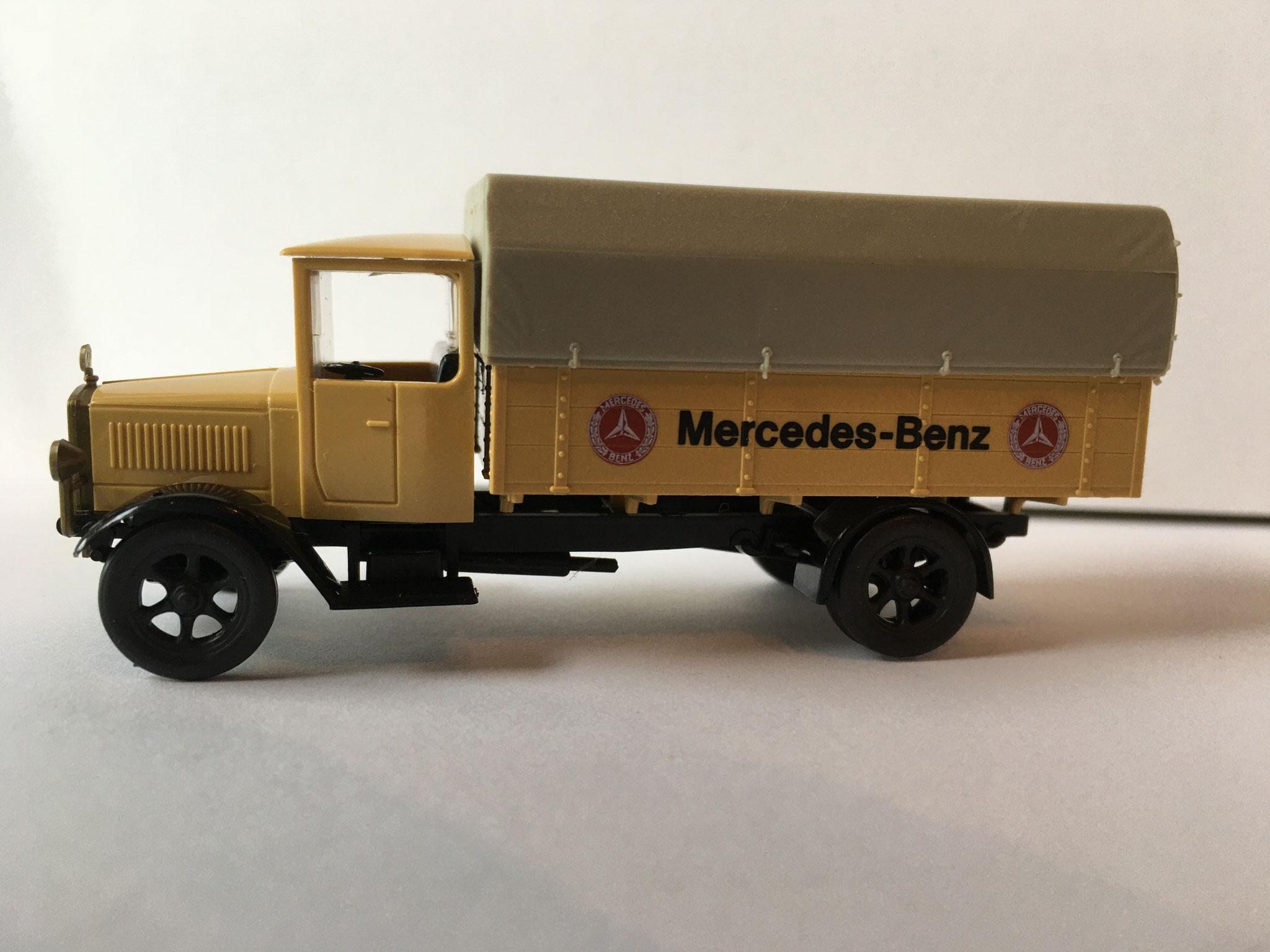 Mercedes L5 Mercedes-Benz Pritsche / Plane (MB-Museum)