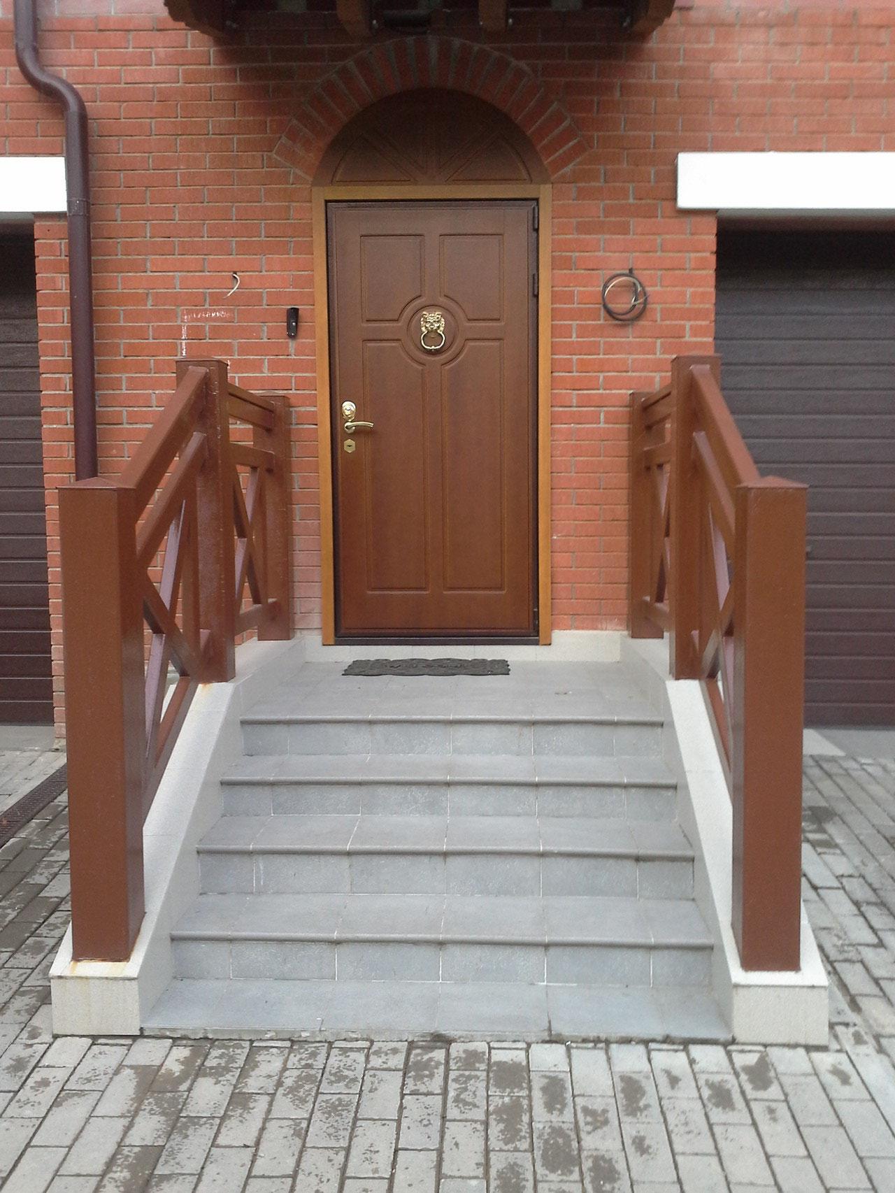 дверь серии МДФ установка в Зеленограде.