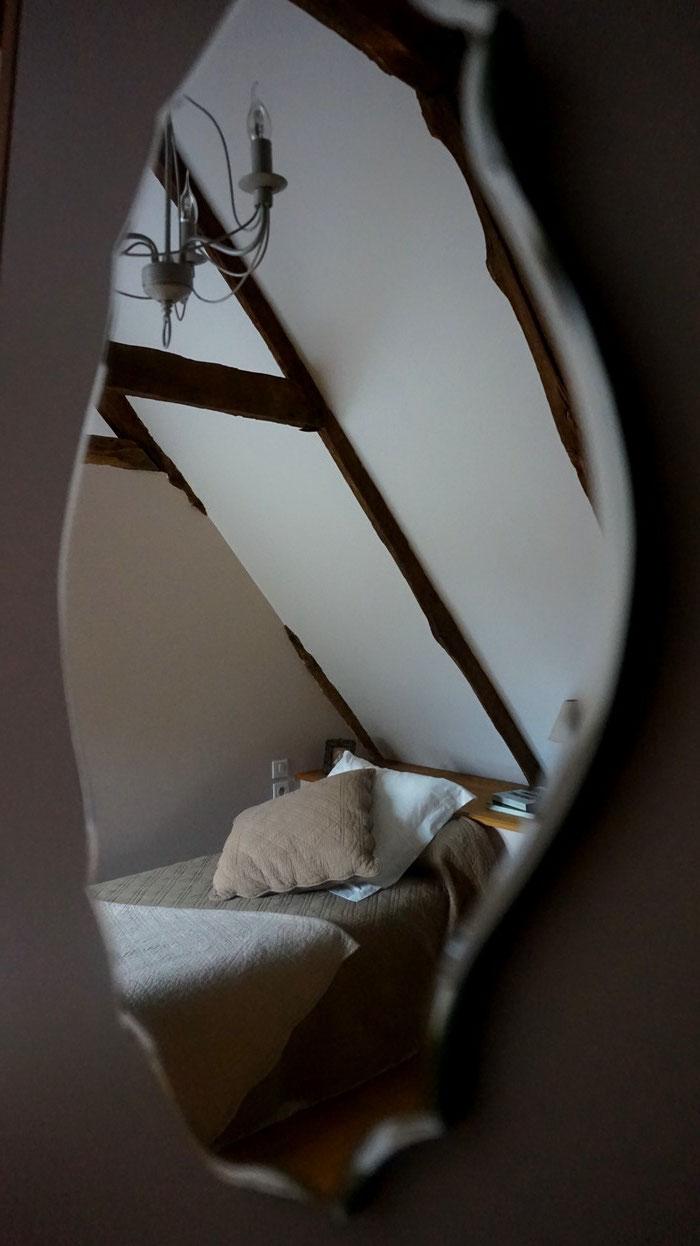 Une chambre au cadre chaleureux