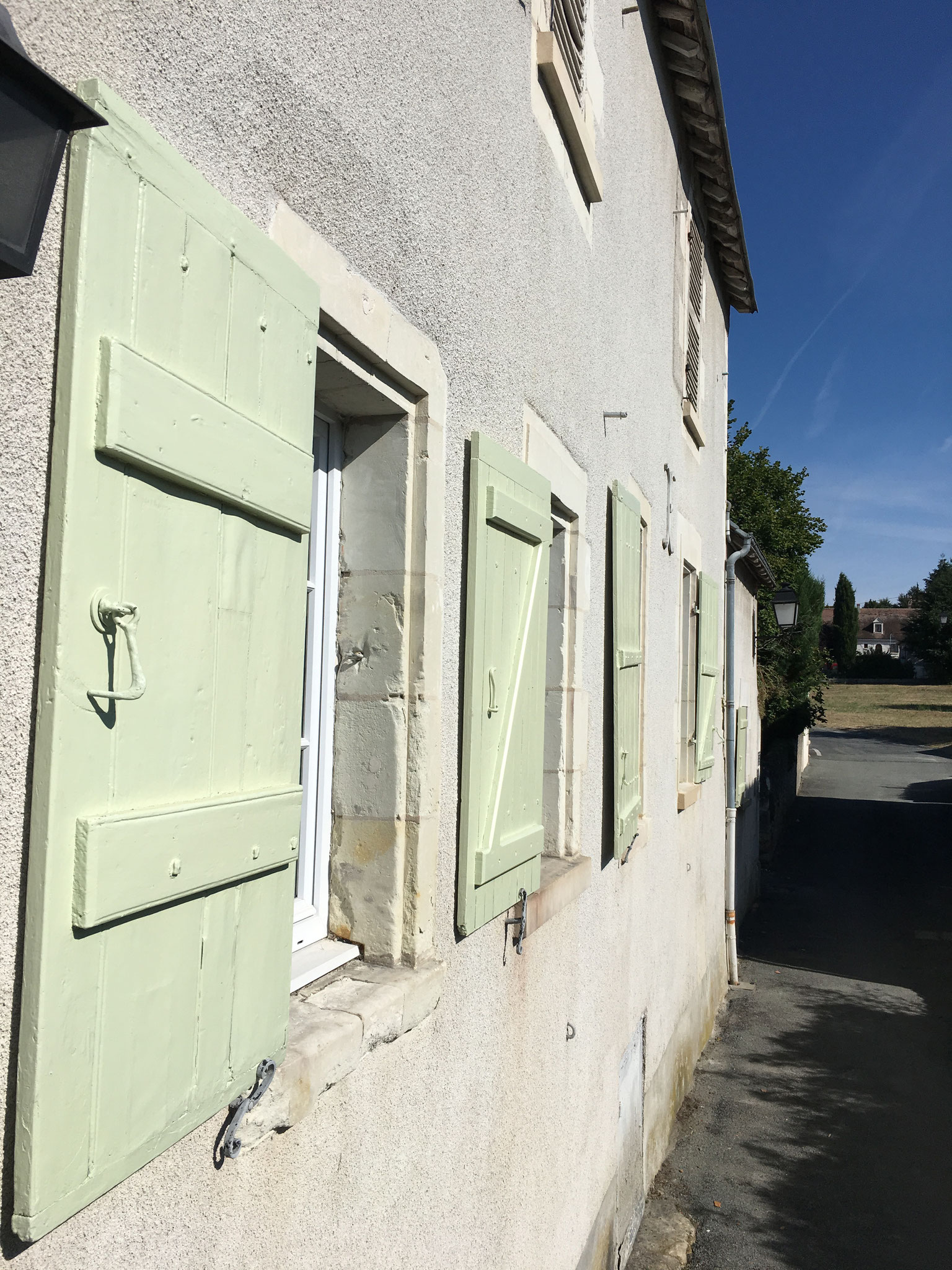 Location à Amboise La facade Gite de l'Amandier