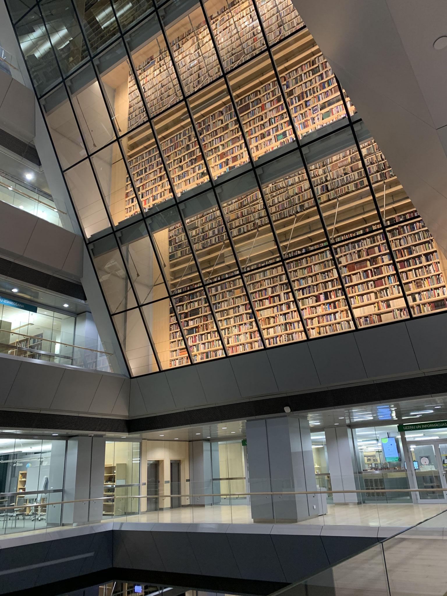 Die Nationalbibliothek in Riga