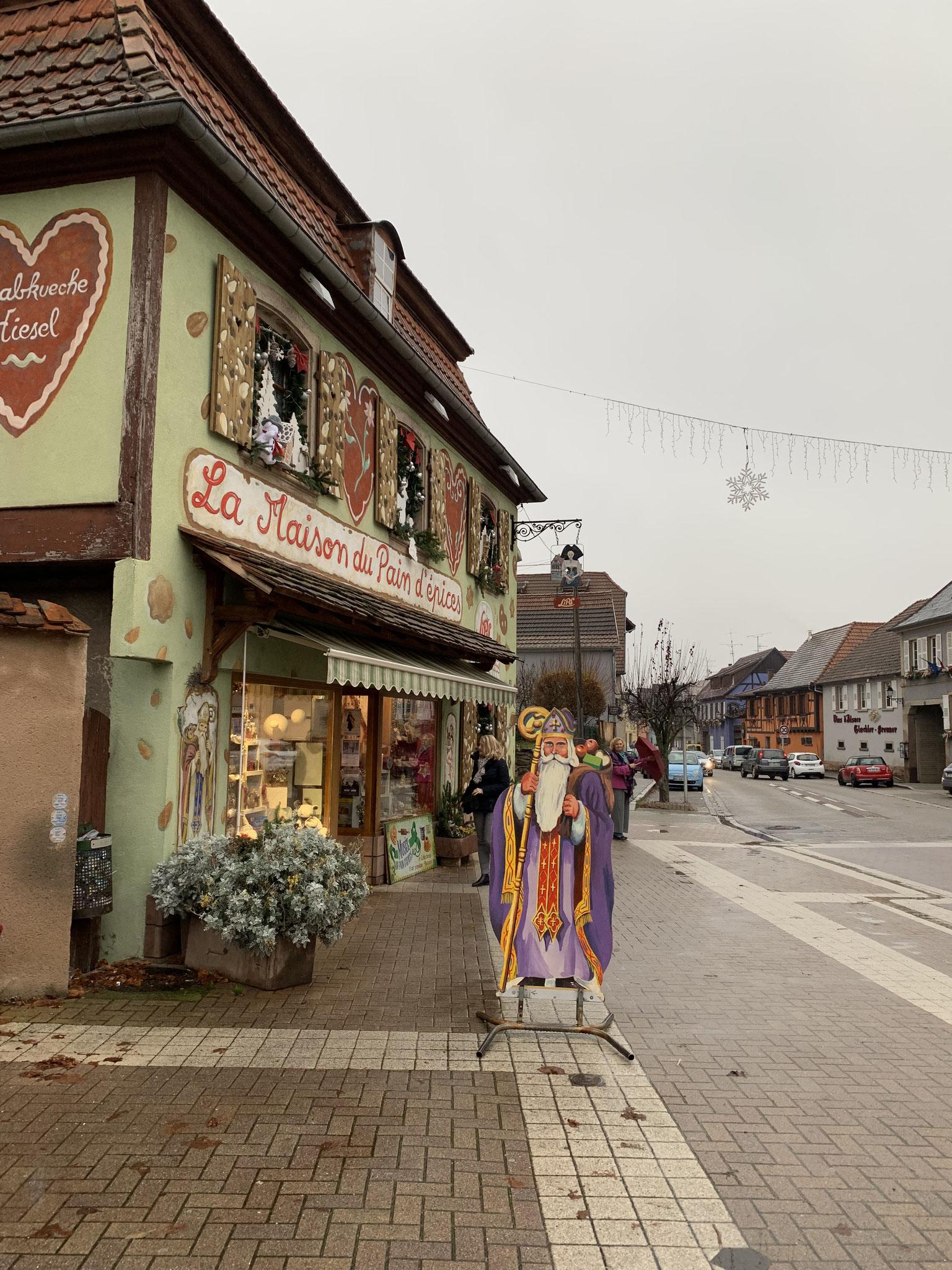 11-2018 Ausflug ins Elsass - Gertwiller Lebkuchenbäckerei Lips