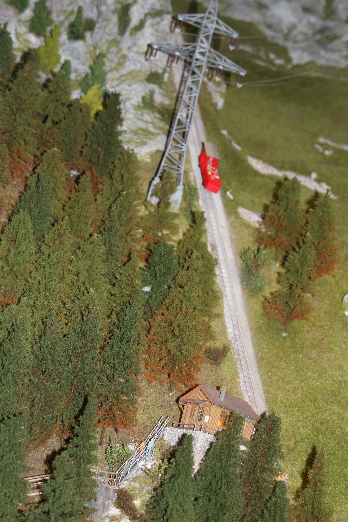 Die Gelmer Bergbahn ein Erlebnis für den, der sich traut. geil!!!