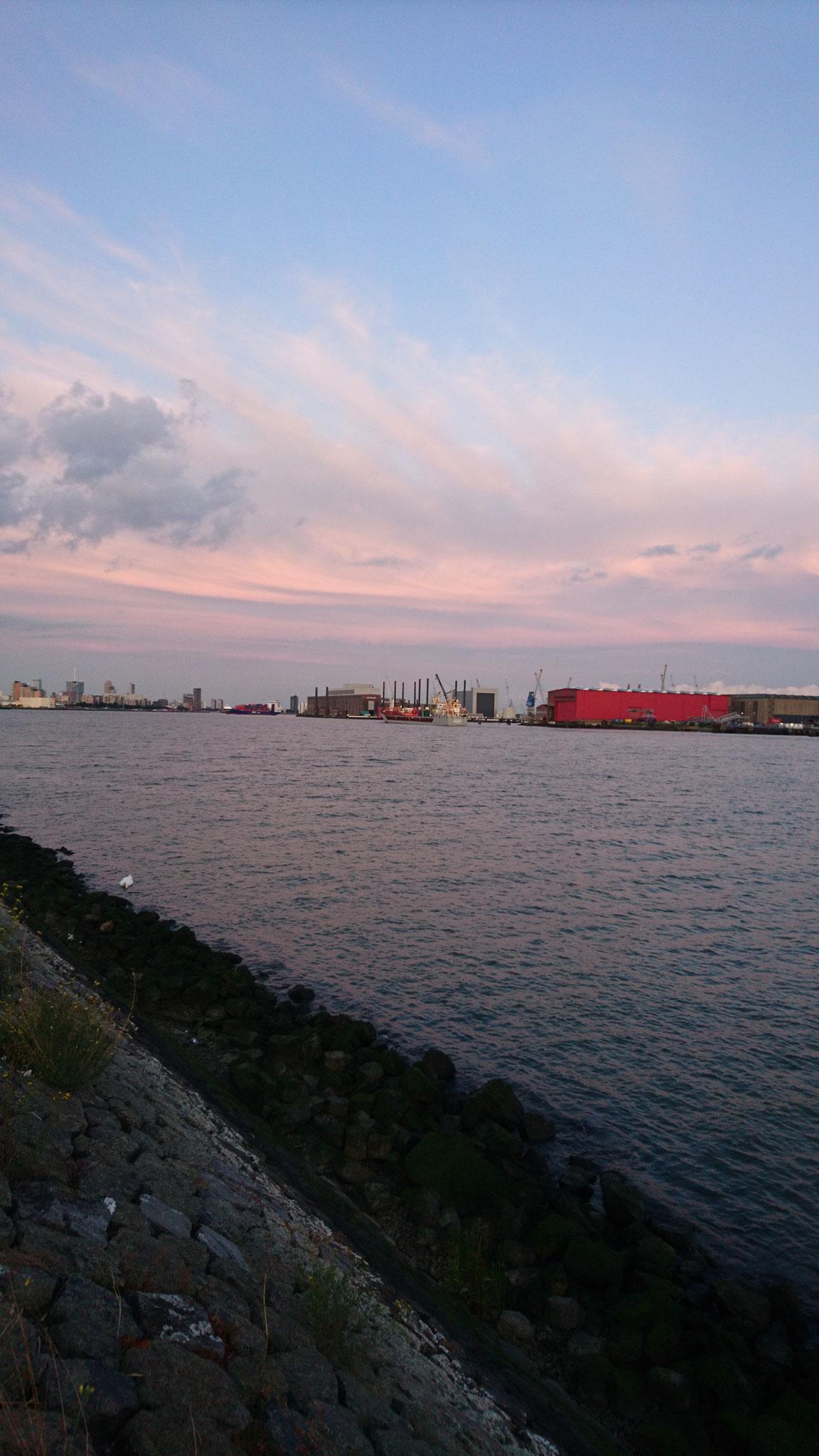 outside of Rotterdam