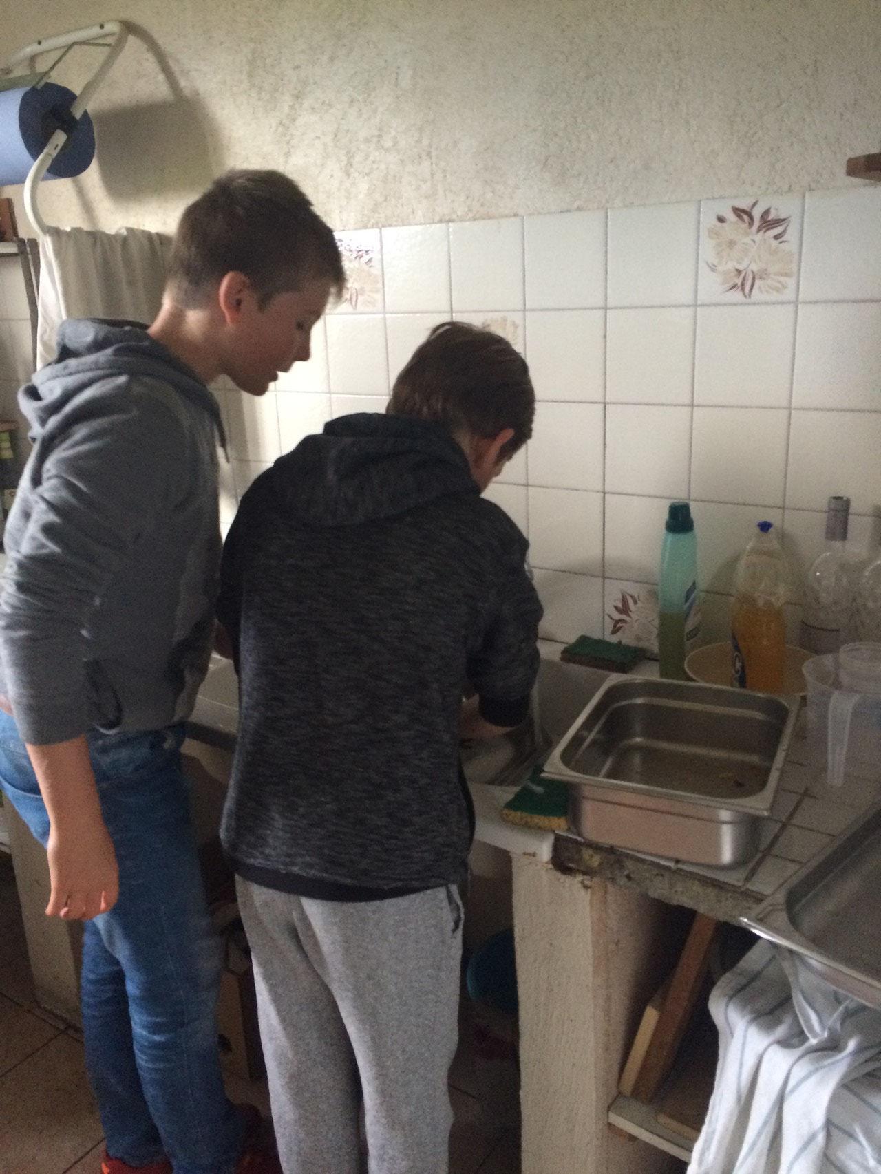 Dur dur la vaisselle