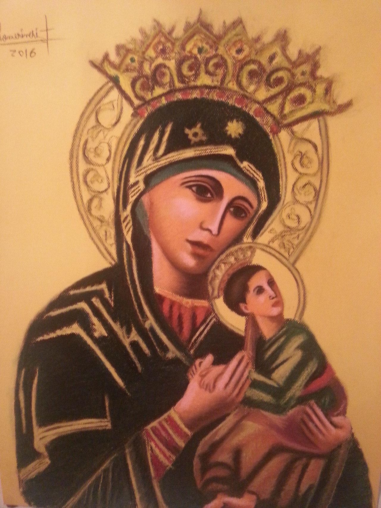 Virgen del Perpetuo Socorro Siglo XII ( Roma)