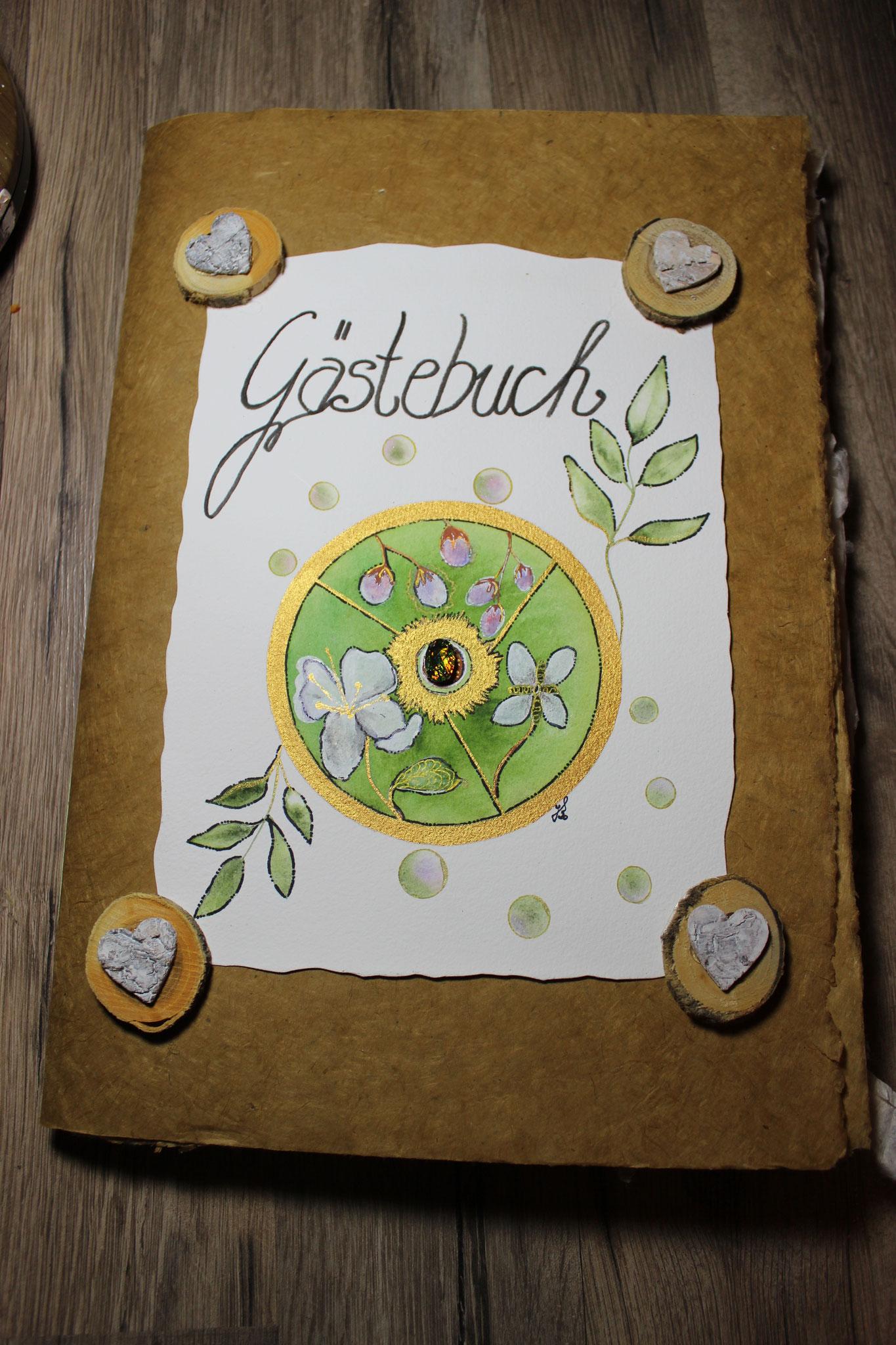 Gästebuch Coverblatt