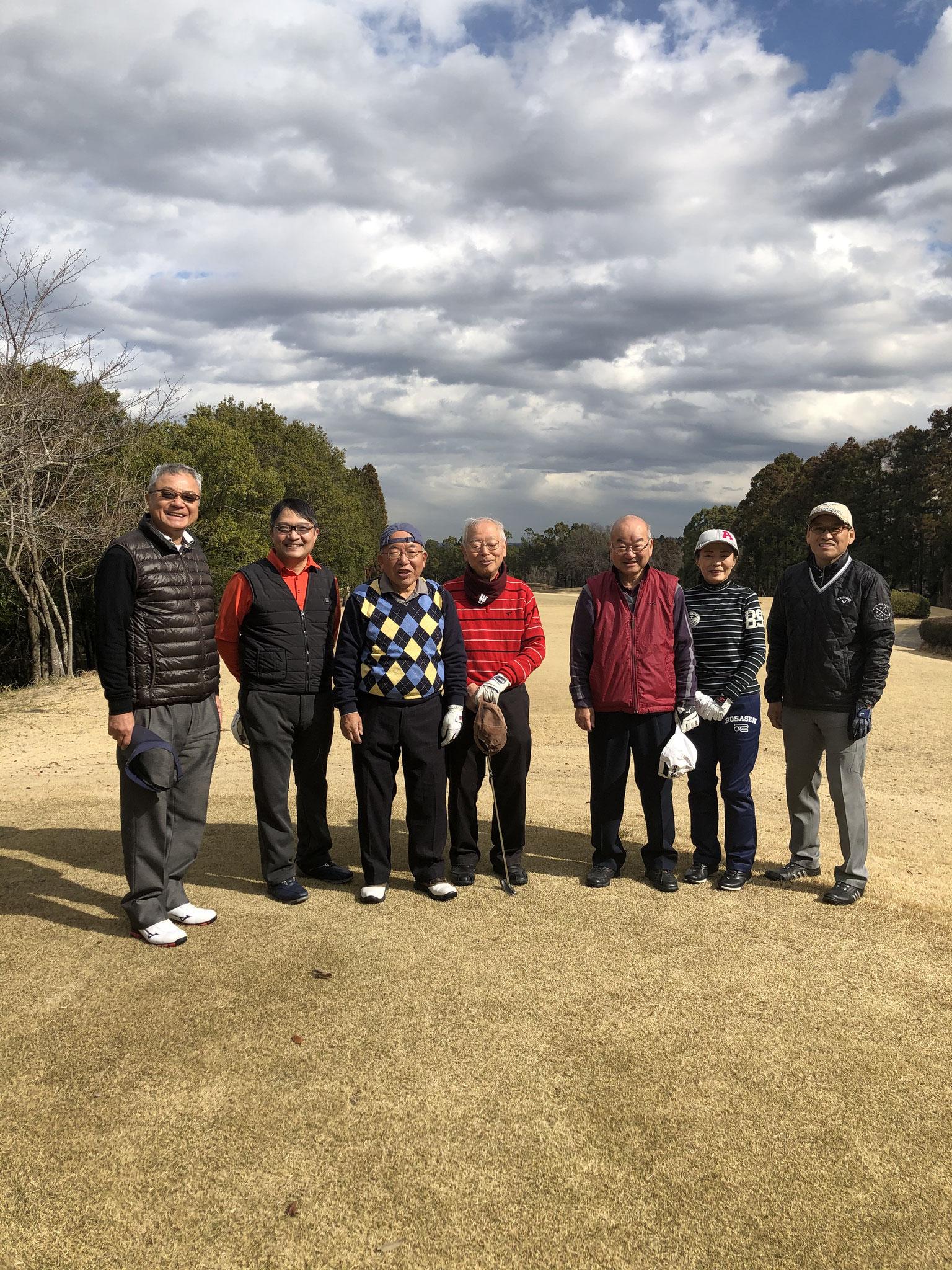 2020春のゴルフ会
