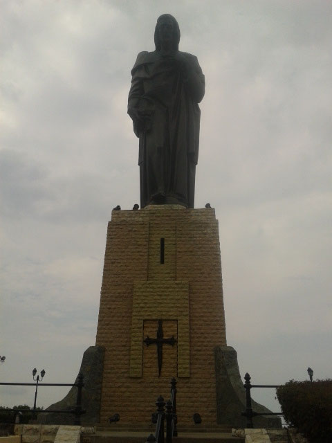 Au sommet de cerro El Carmen, voisin de cerro Santa Ana, où se trouve la statue du Christ