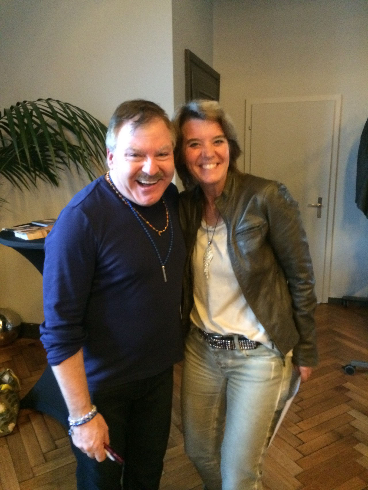 James van Praagh + Claudia