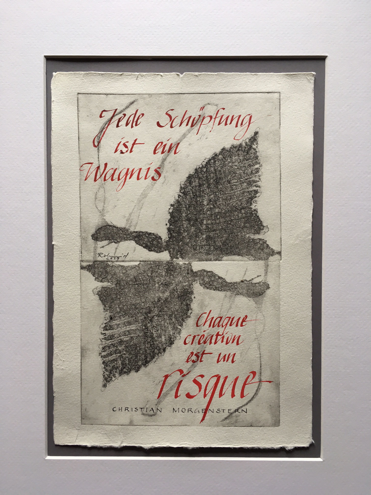 Ruth Schmid - Risiko