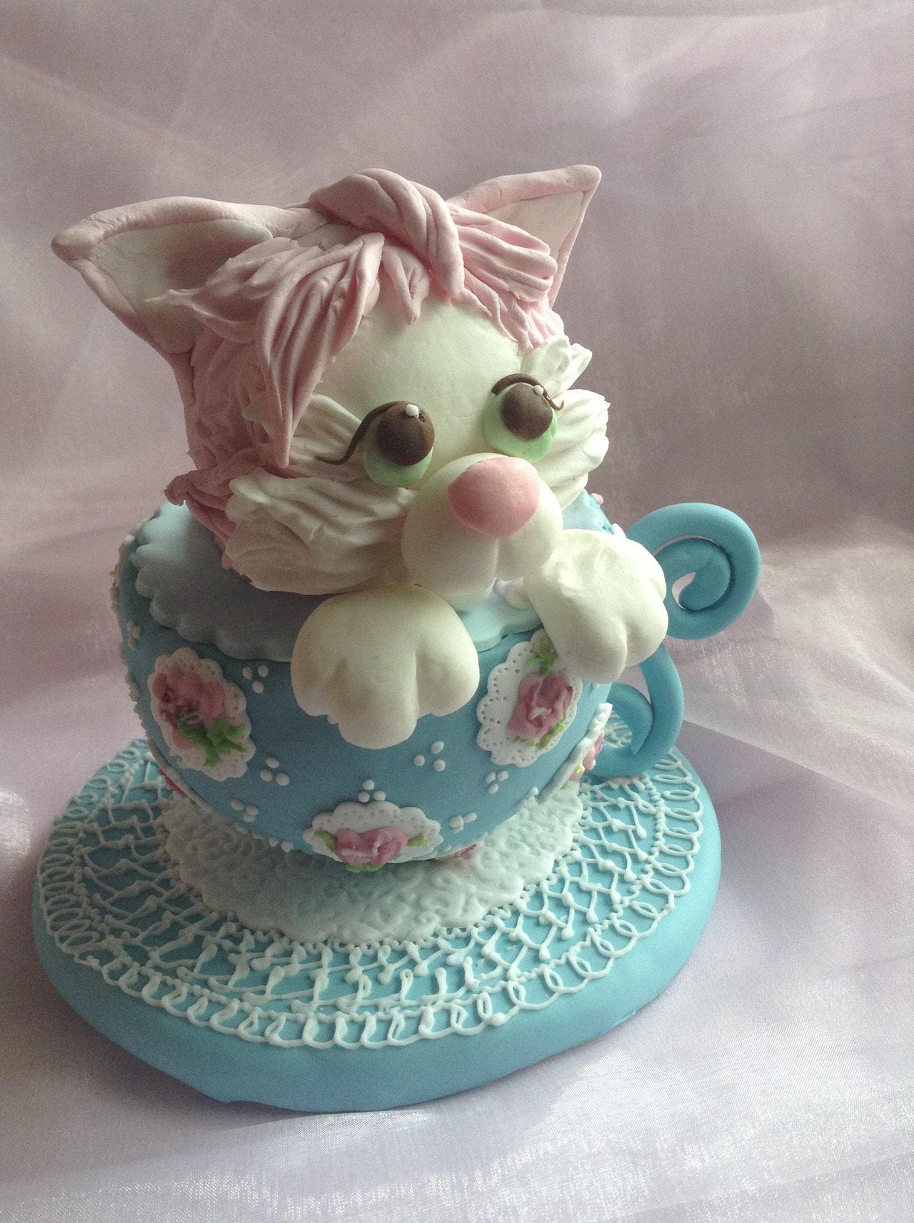 TEA CUP キティー