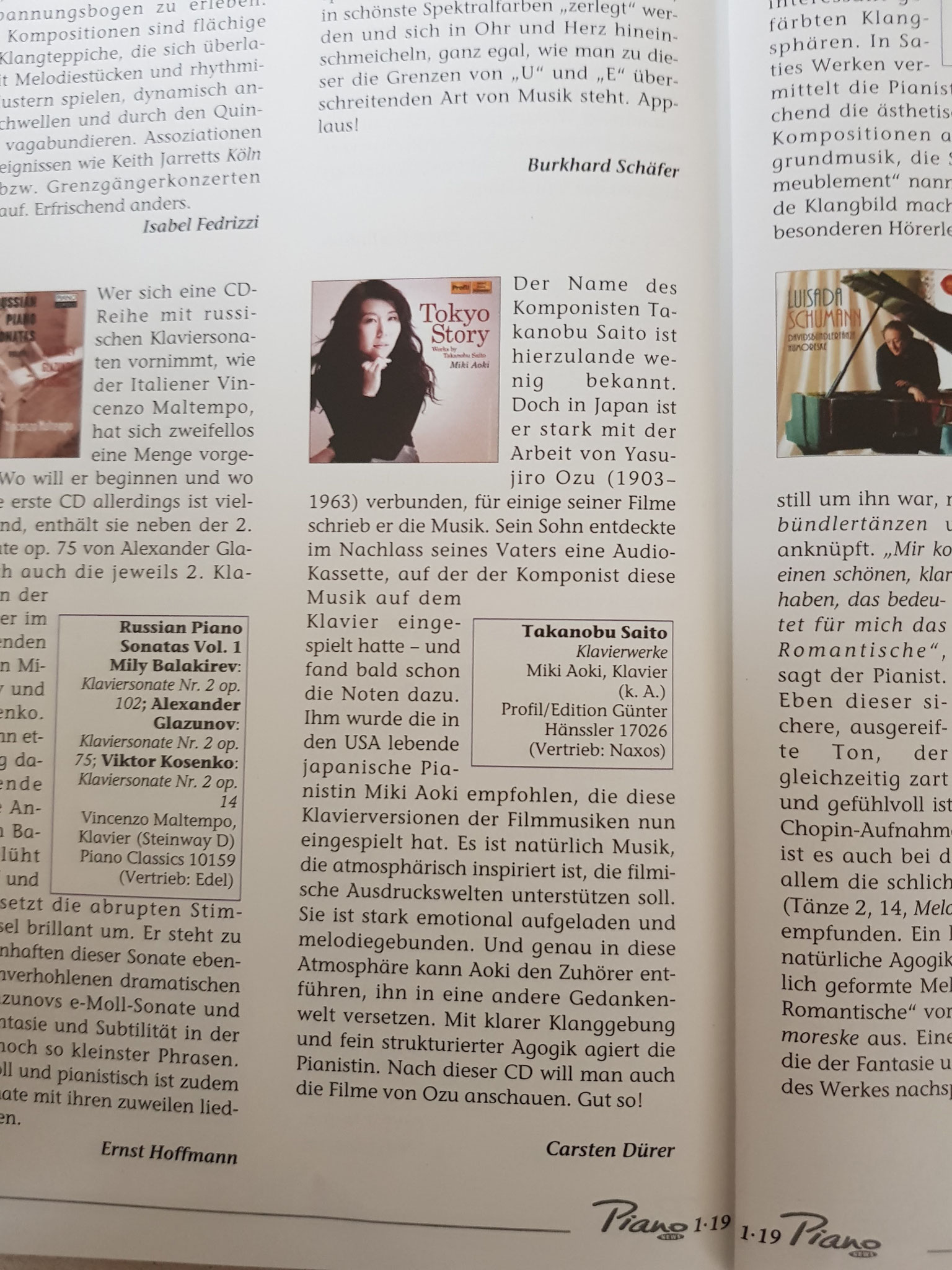 Review: Piano Magazine Deutschland