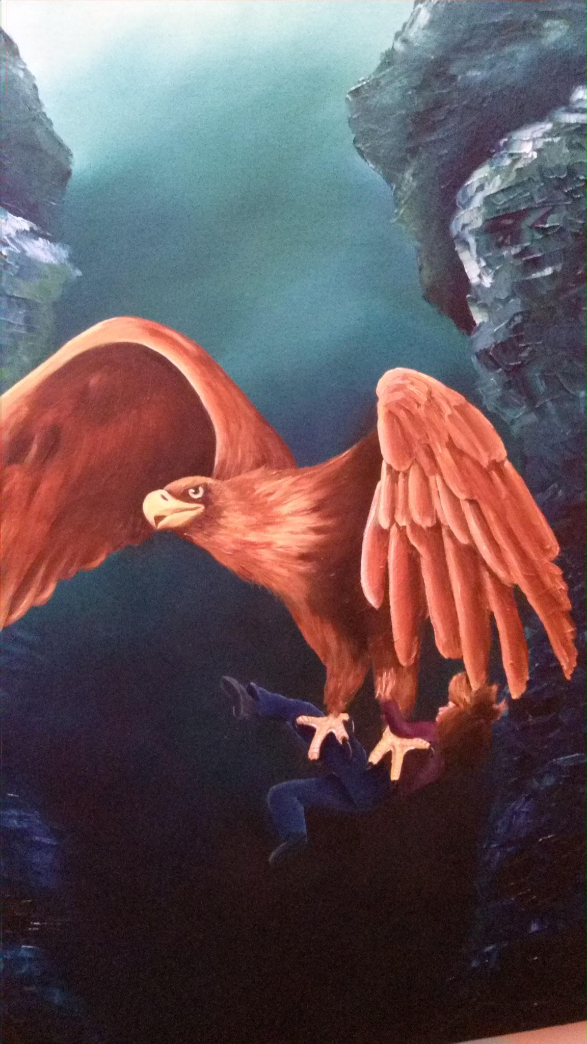 Der Adler - Ich falle, doch Du fängst mich auf
