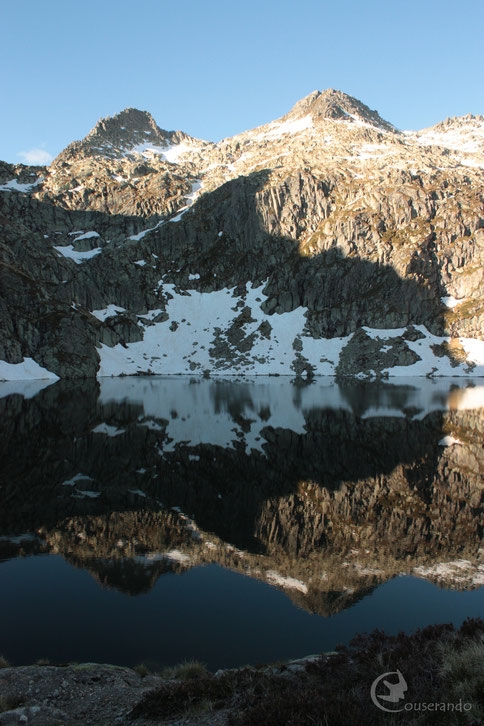 Effet miroir - Doriane GAUTIER, Couserando - Randonnée Nature Ariège Pyrénées
