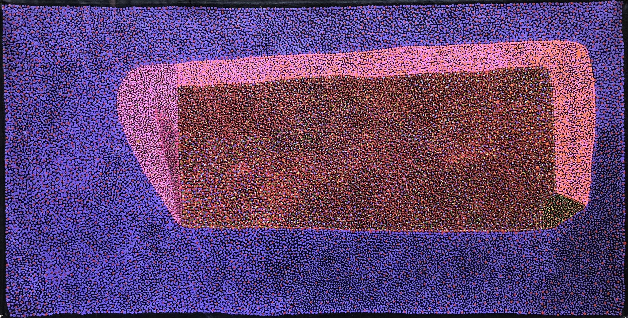 ジョーシー・パトリック 「母の大地」 450x900mm