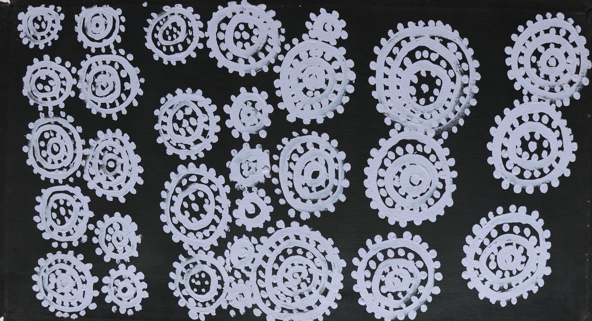 ジミー・ヌカティ 「ウォーター・ドリーミング」 470x830mm