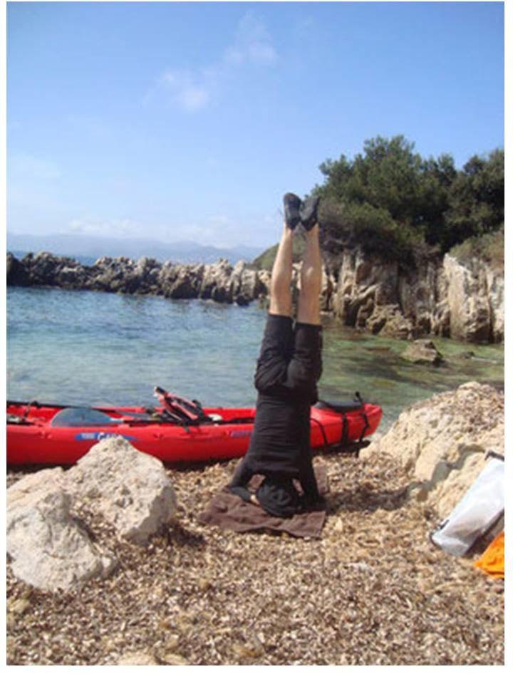 Kayak et Yoga Iles de Lérins