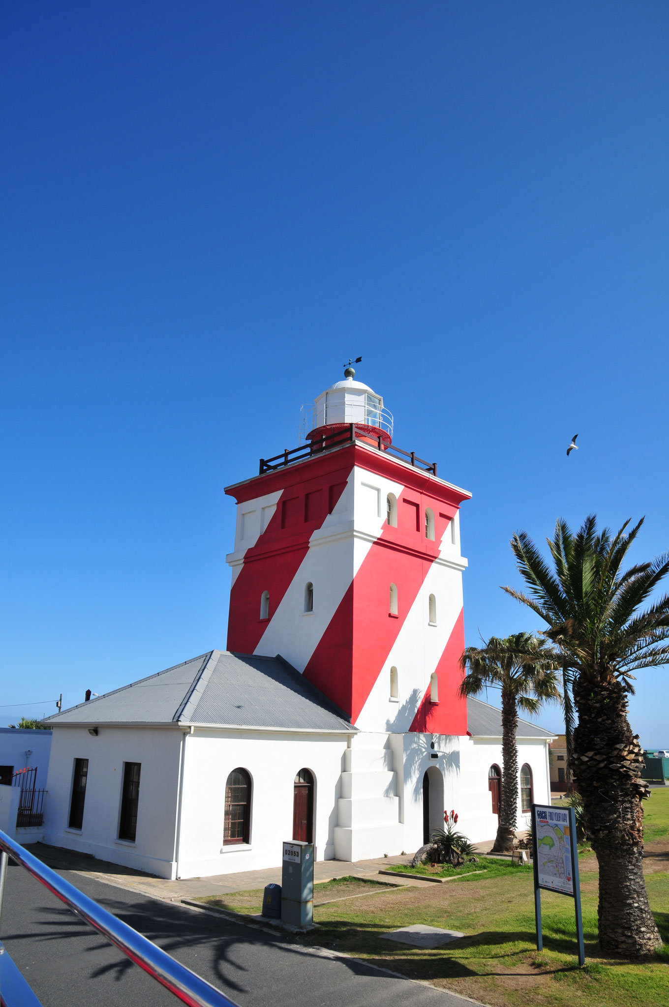 ...via Green Point Lighthouse...