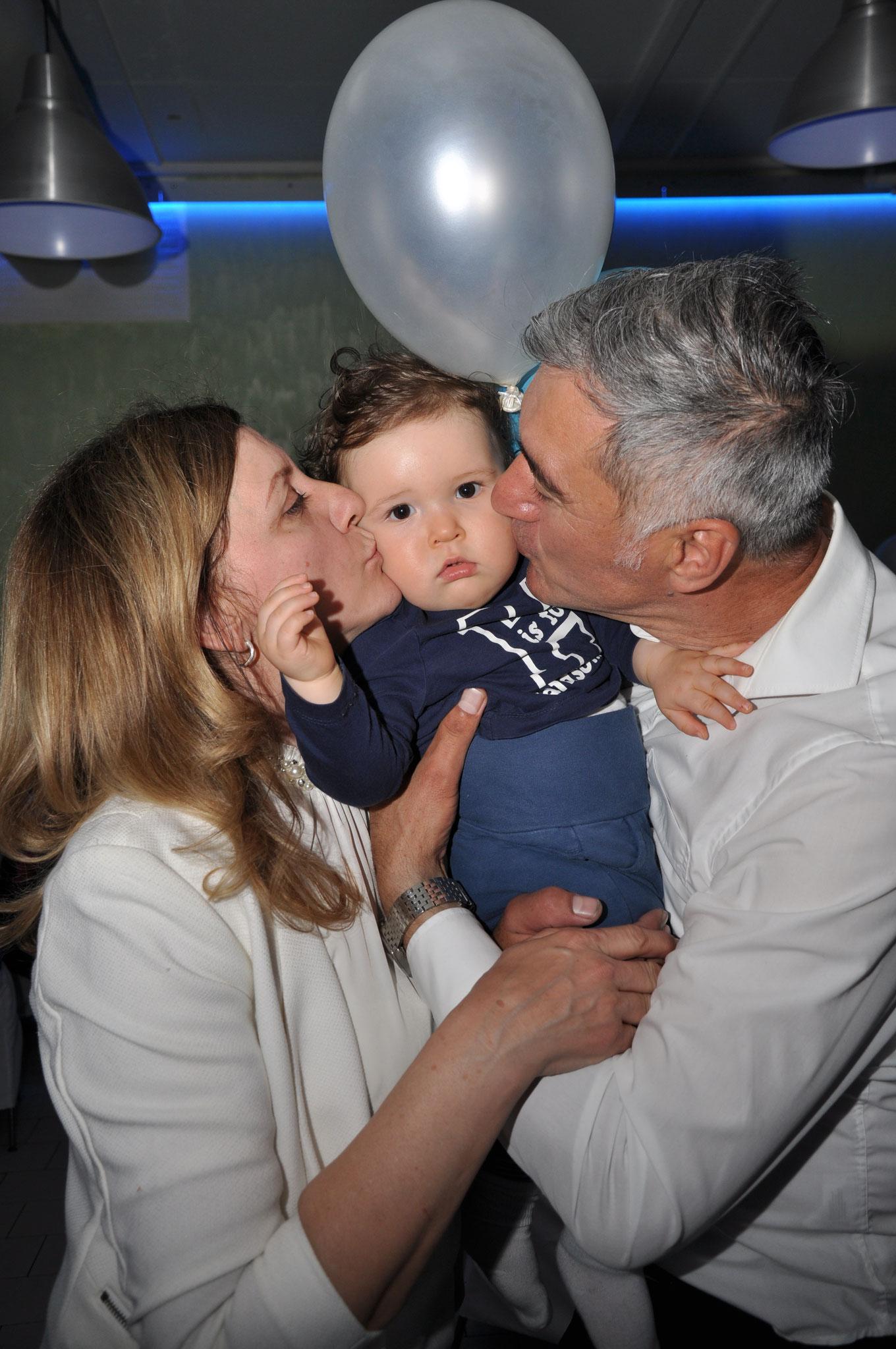 Hvala svima koji su bili na Krštenju našeg Unuka Andreja...