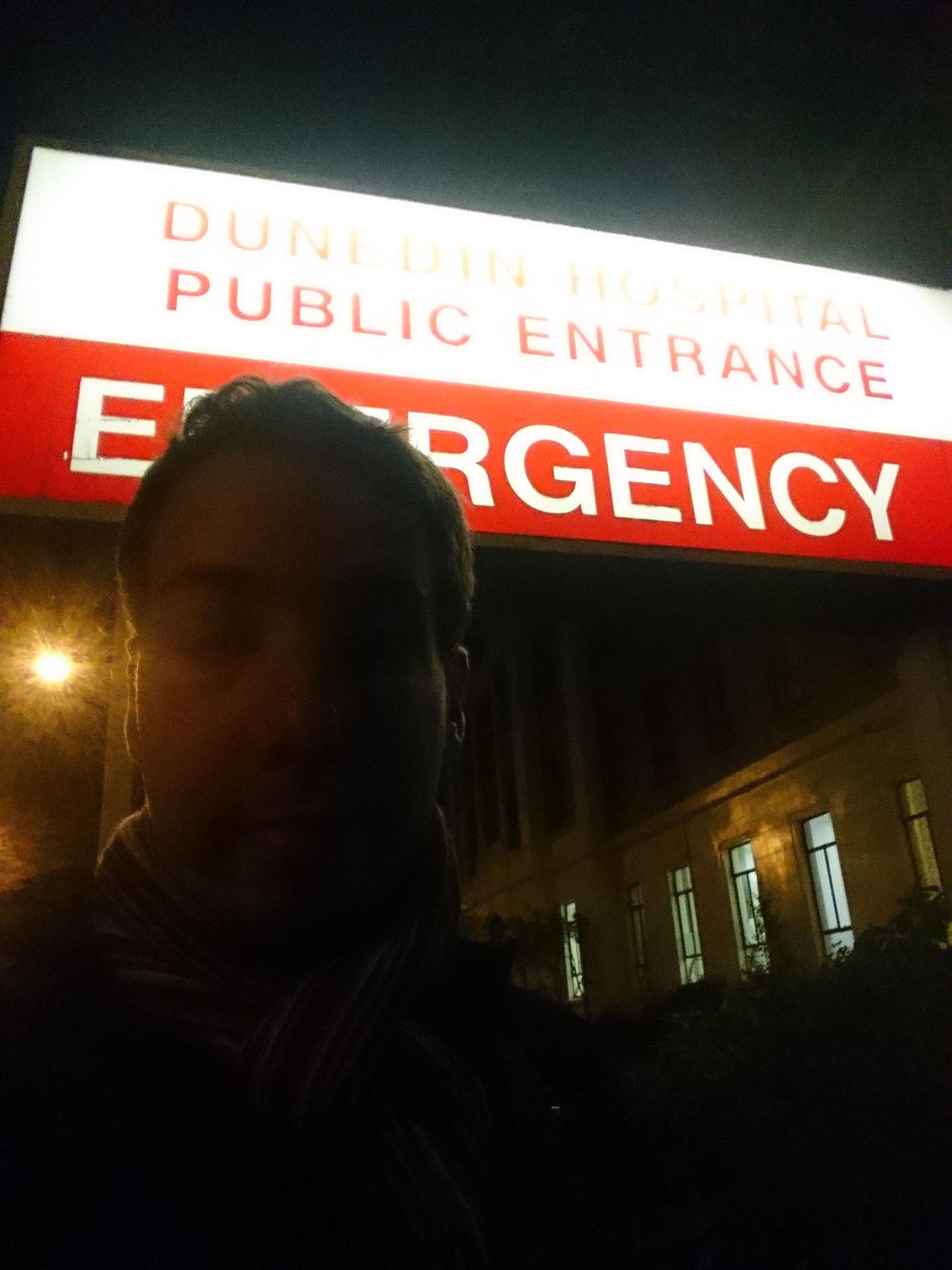 Un jour après la piqûre, nuit passée aux urgences. Aucune infection, ouf !