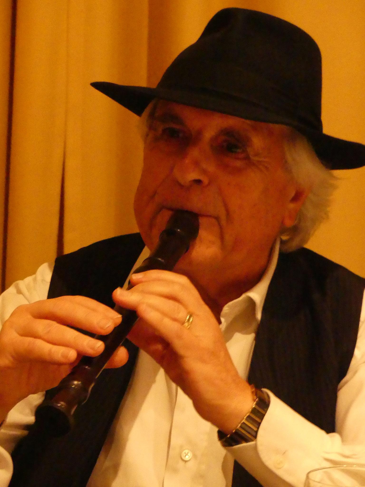 Wir machen unseren Lärm selber: Alfred Noser, Flötenvirtuose